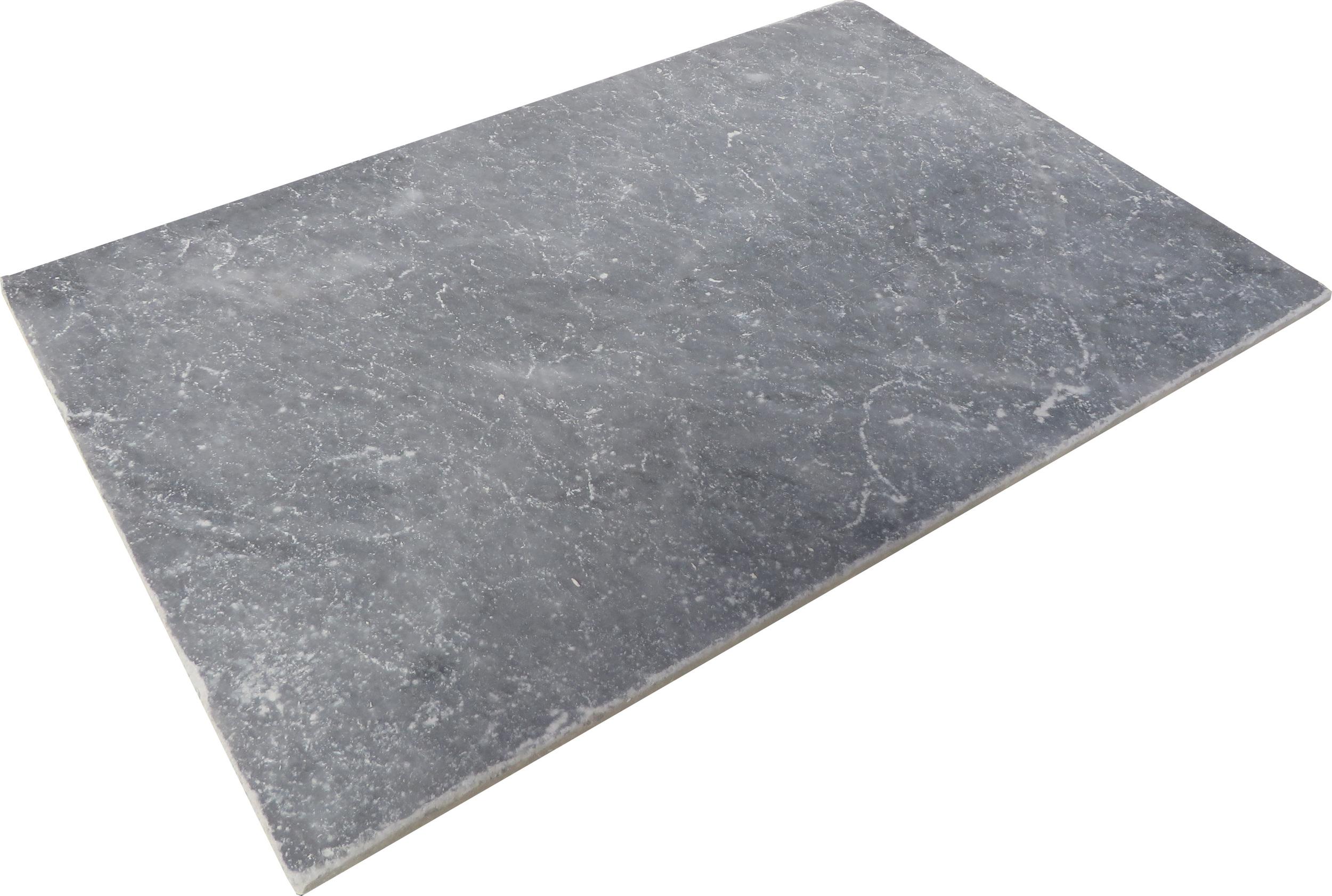 Nero tiles tumbled - 300x300x10mm