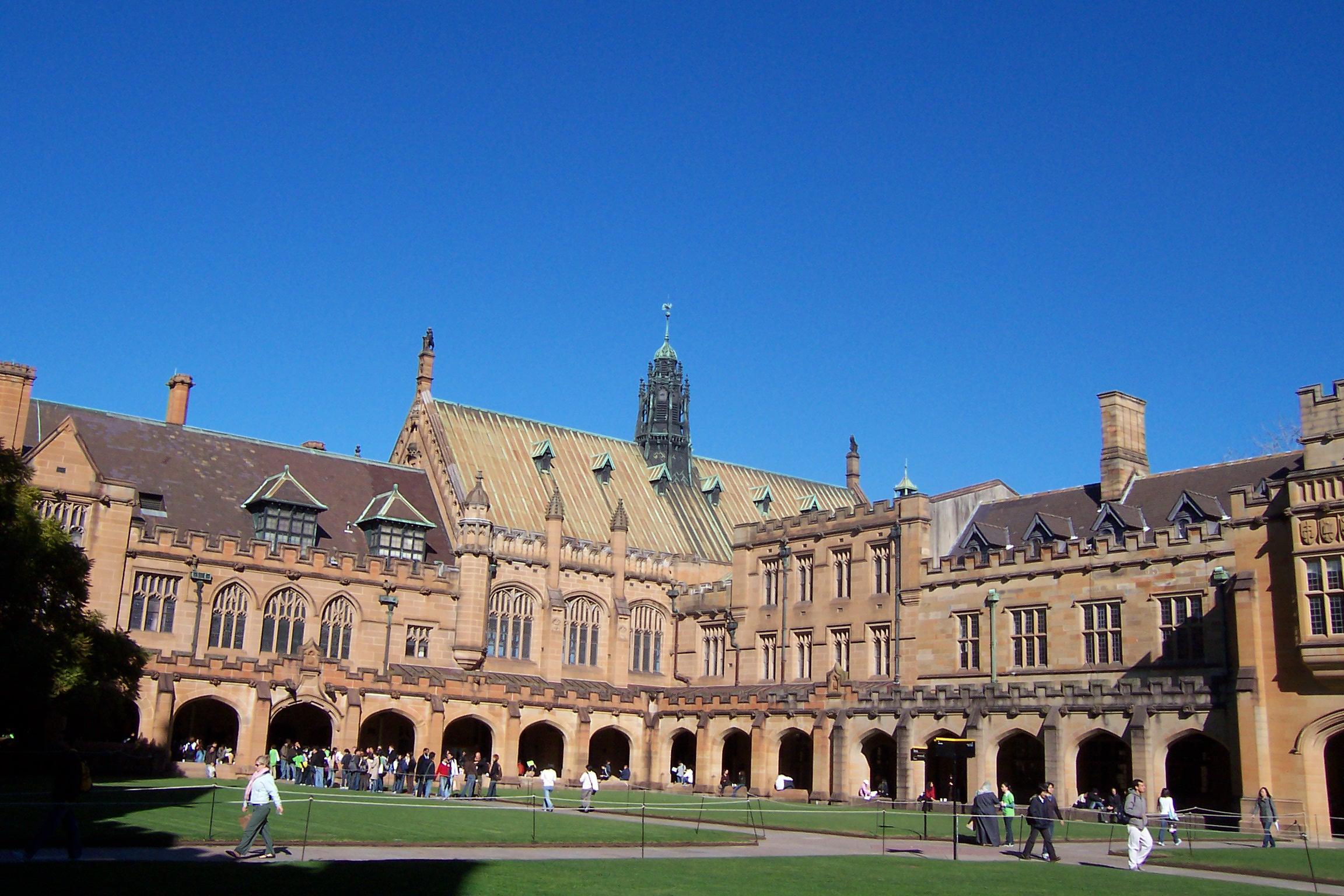 The University of Sydney Quadrangle