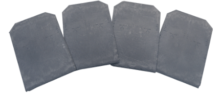 Inspire Slates in Charcoal Grey Colouring