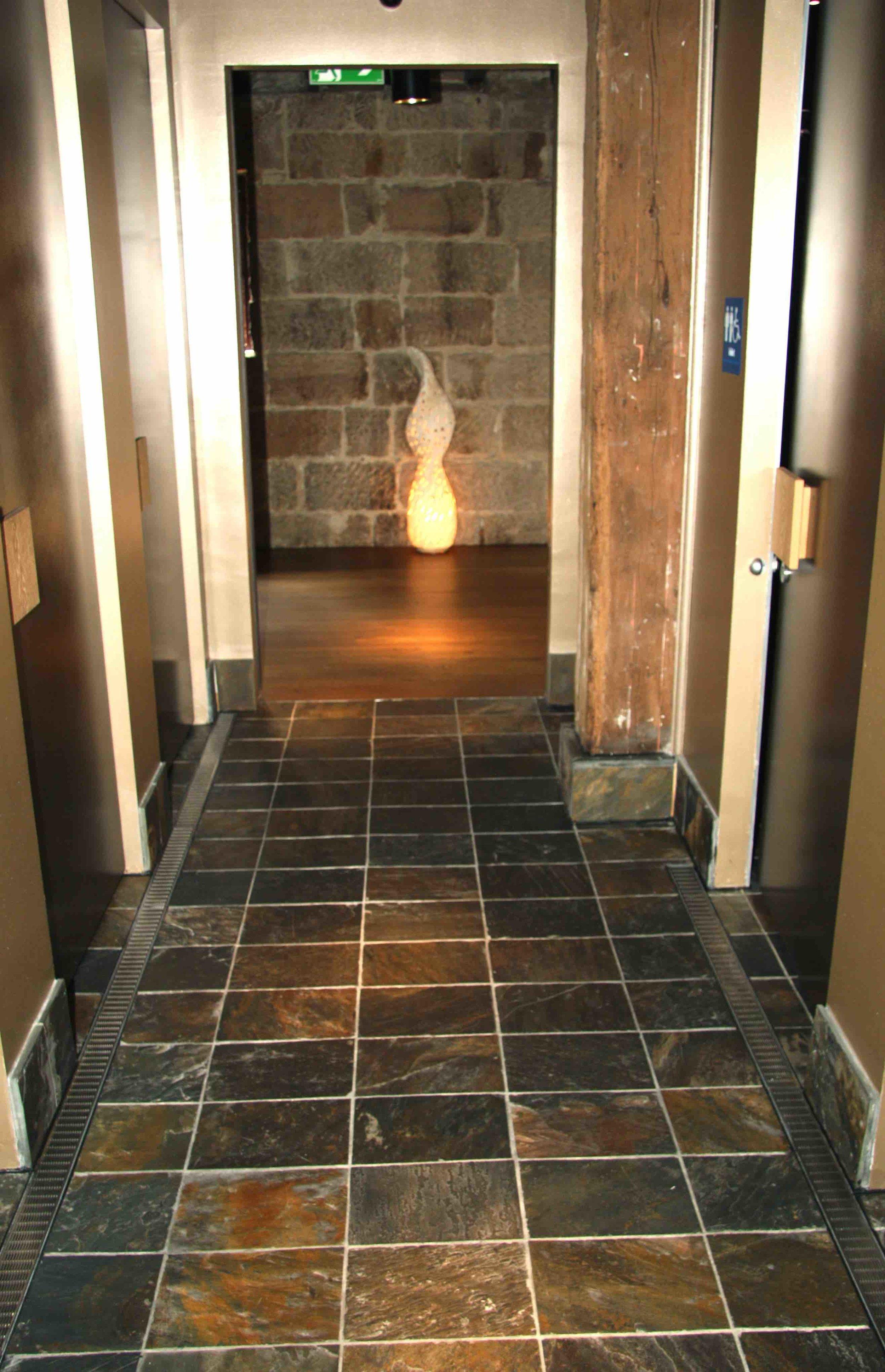 North Country Floor Slate - Sake Restaurant, Sydney