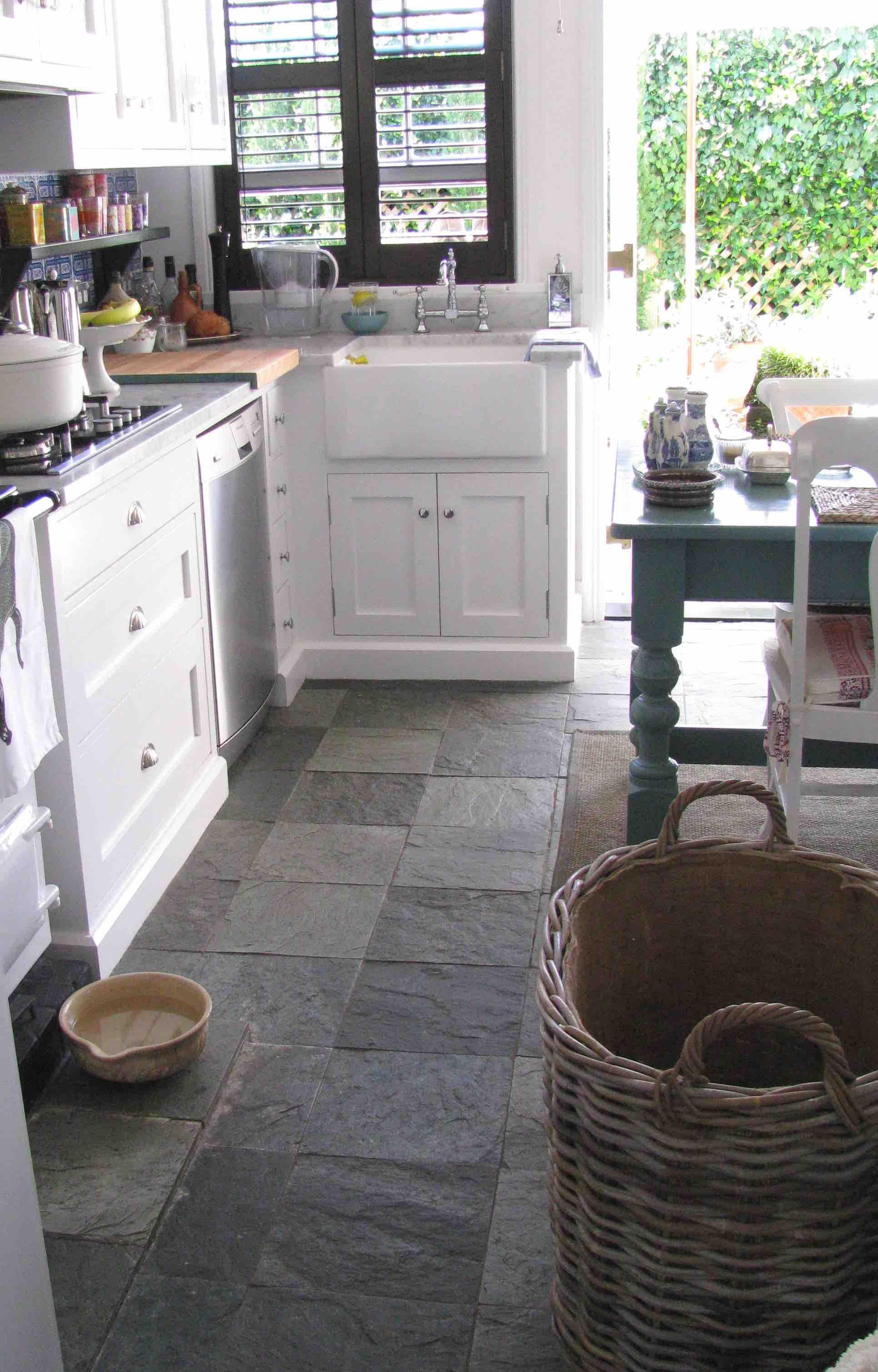Arctic Green Flooring Slate - Berrima Kitchen