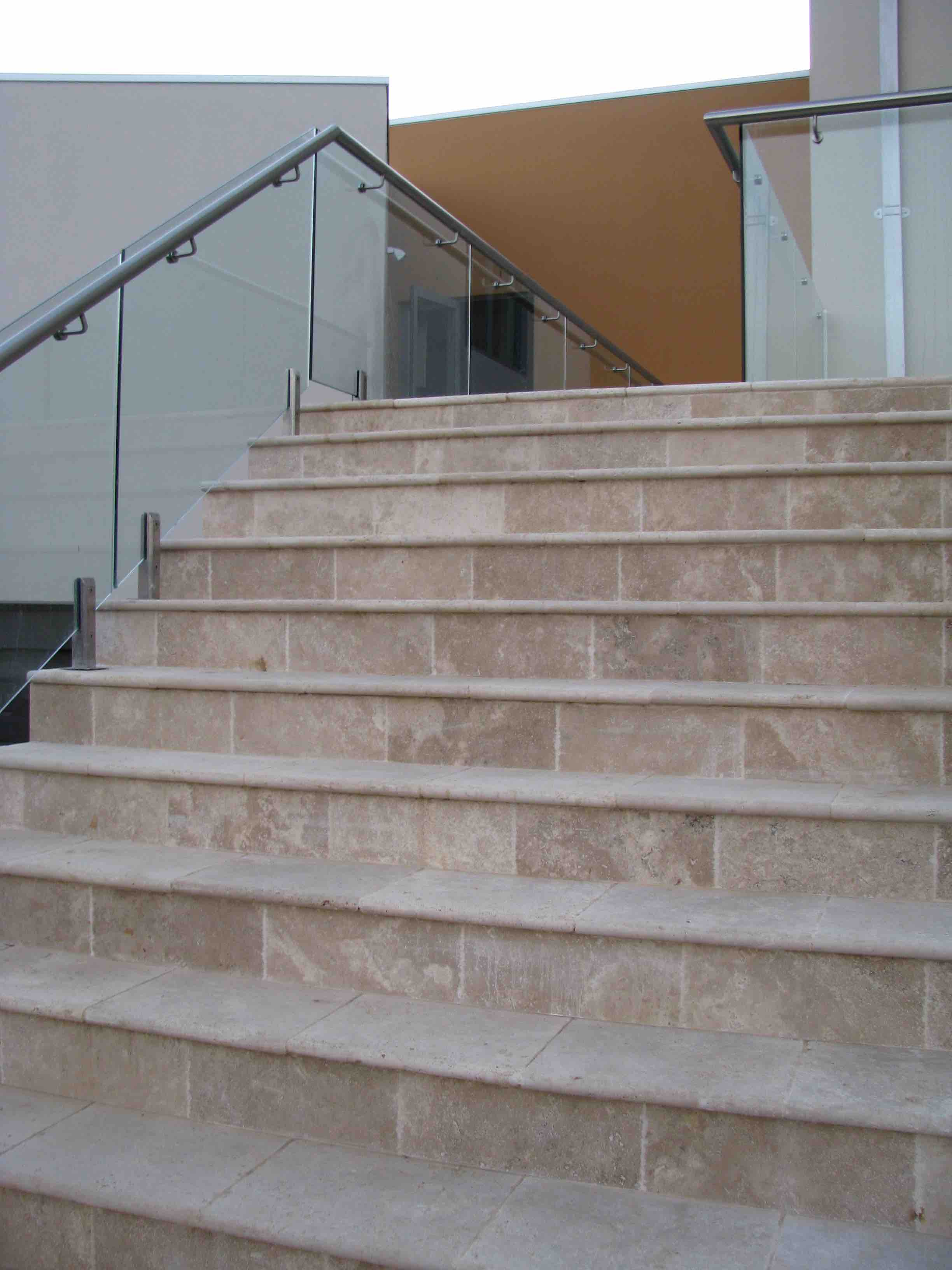 Classico Travertine Stairs