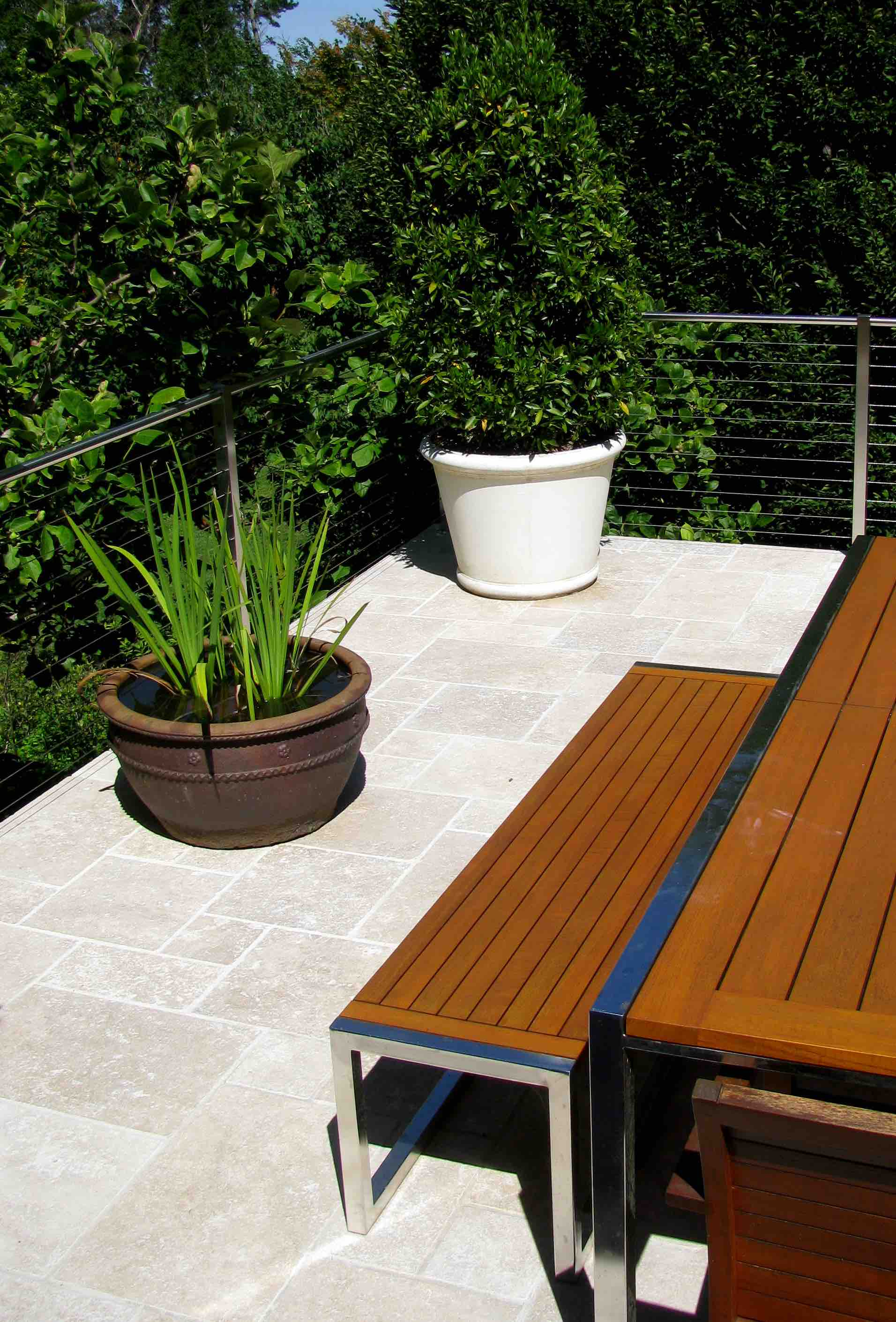 Walnut Travertine Terrace