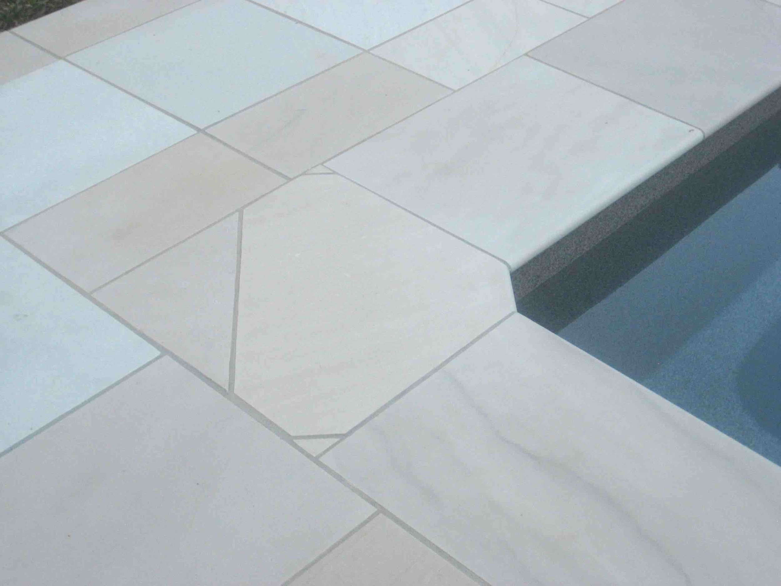 Willow Sandstone - Honed Pool Coping