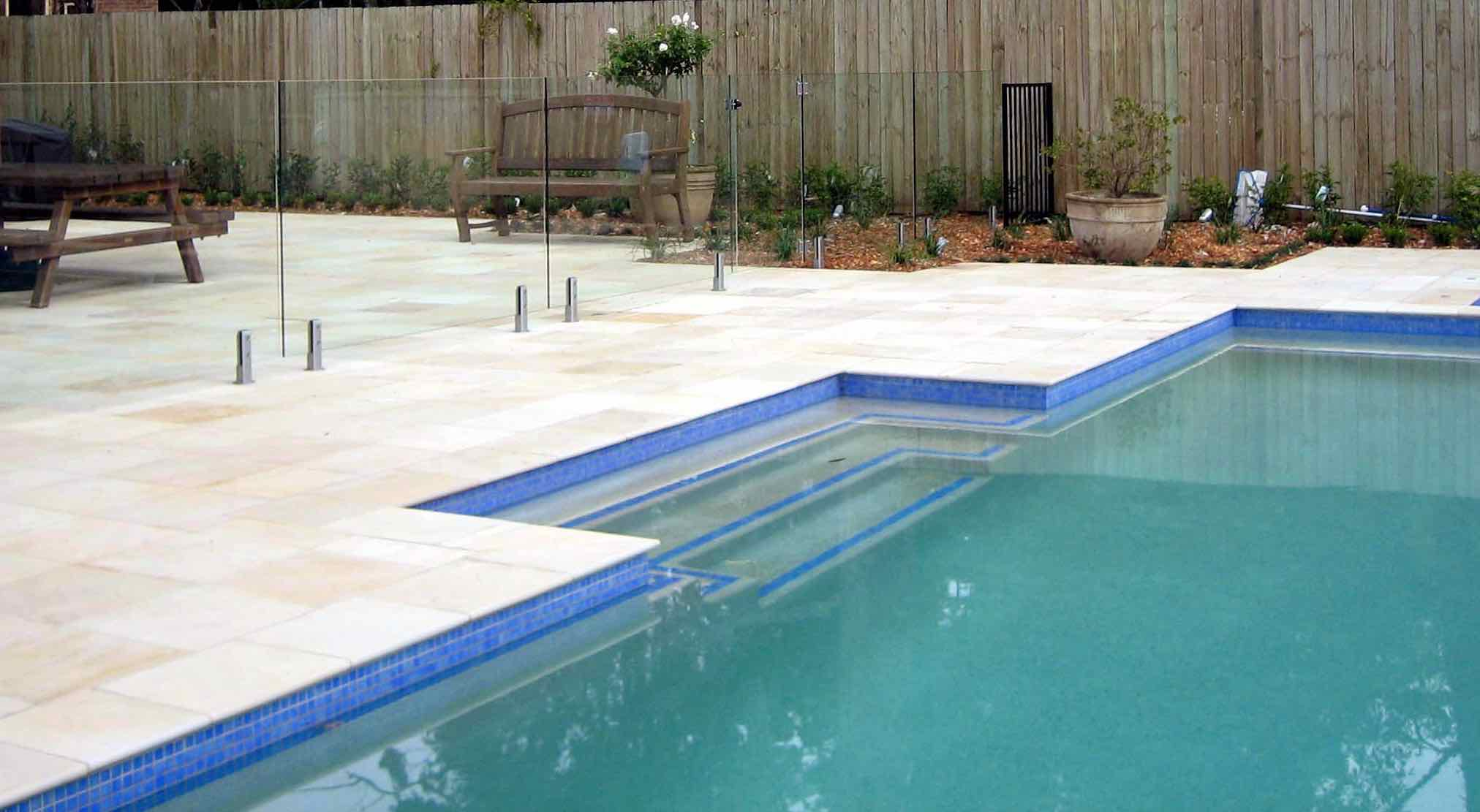 Willow Sandstone - Honed - Pool