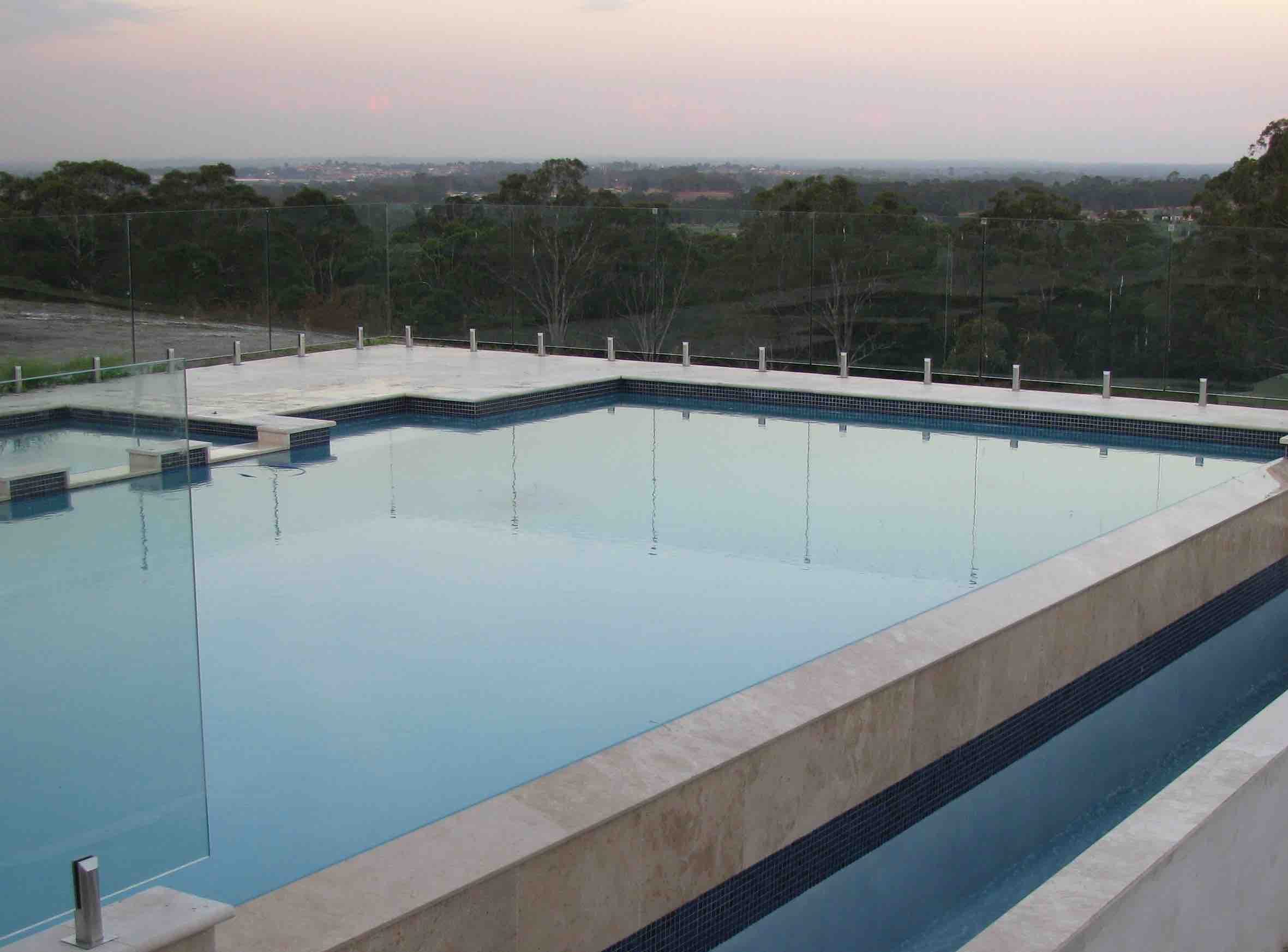 Classico Travertine Pool Paving