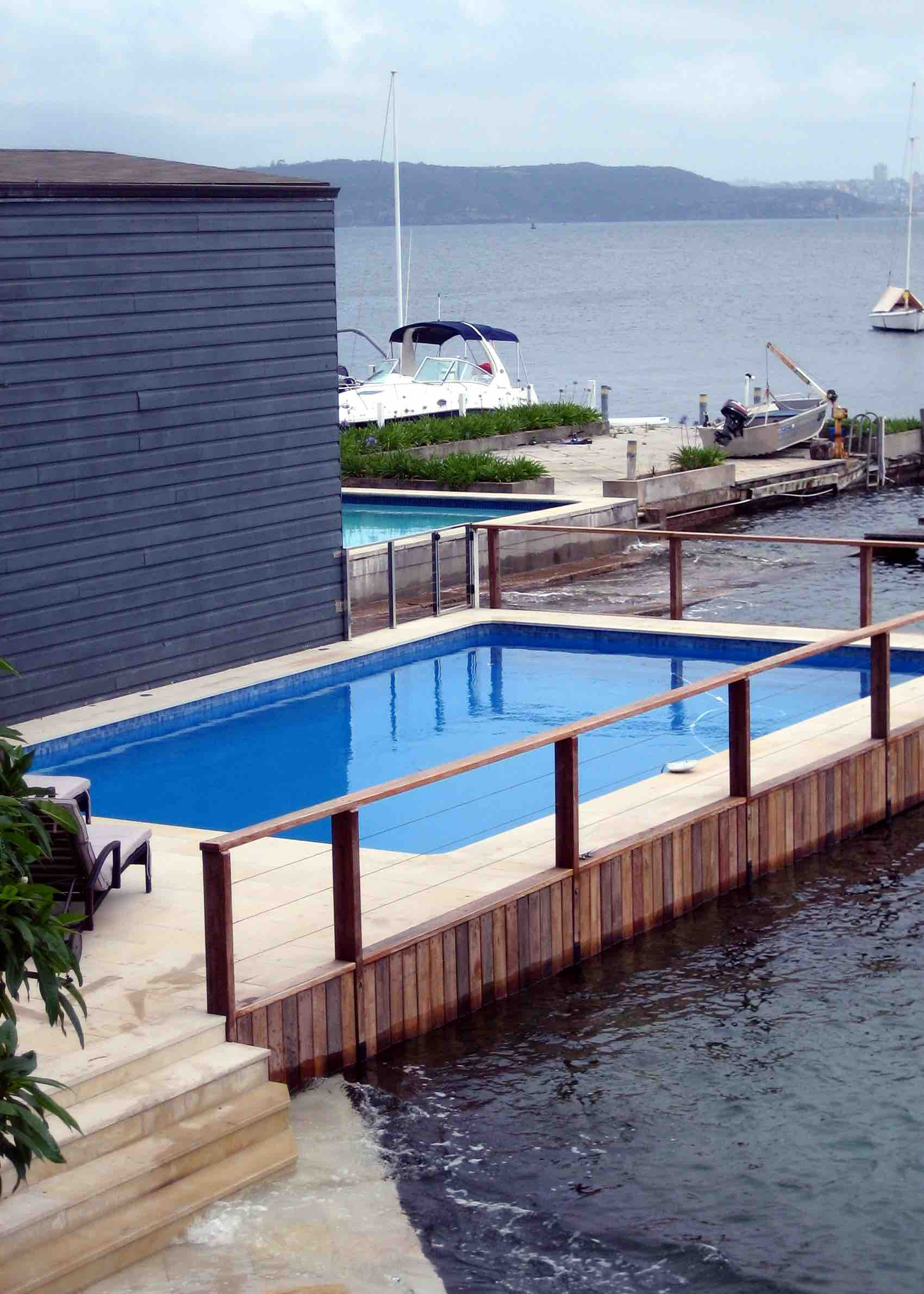 Willow Sandstone Pool Paving - Vaucluse, Sydney