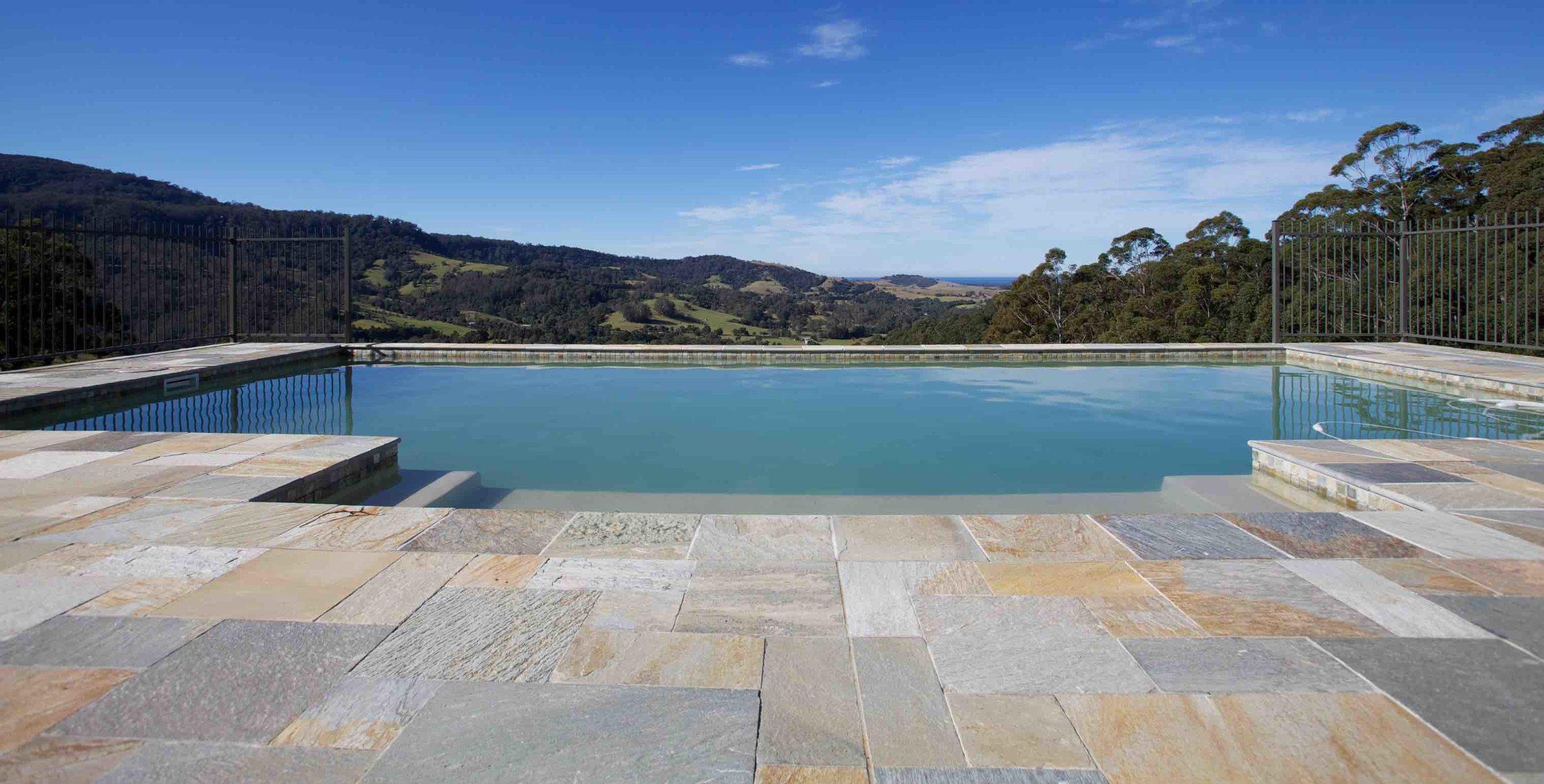 Sofala Quartzite Pool Paving