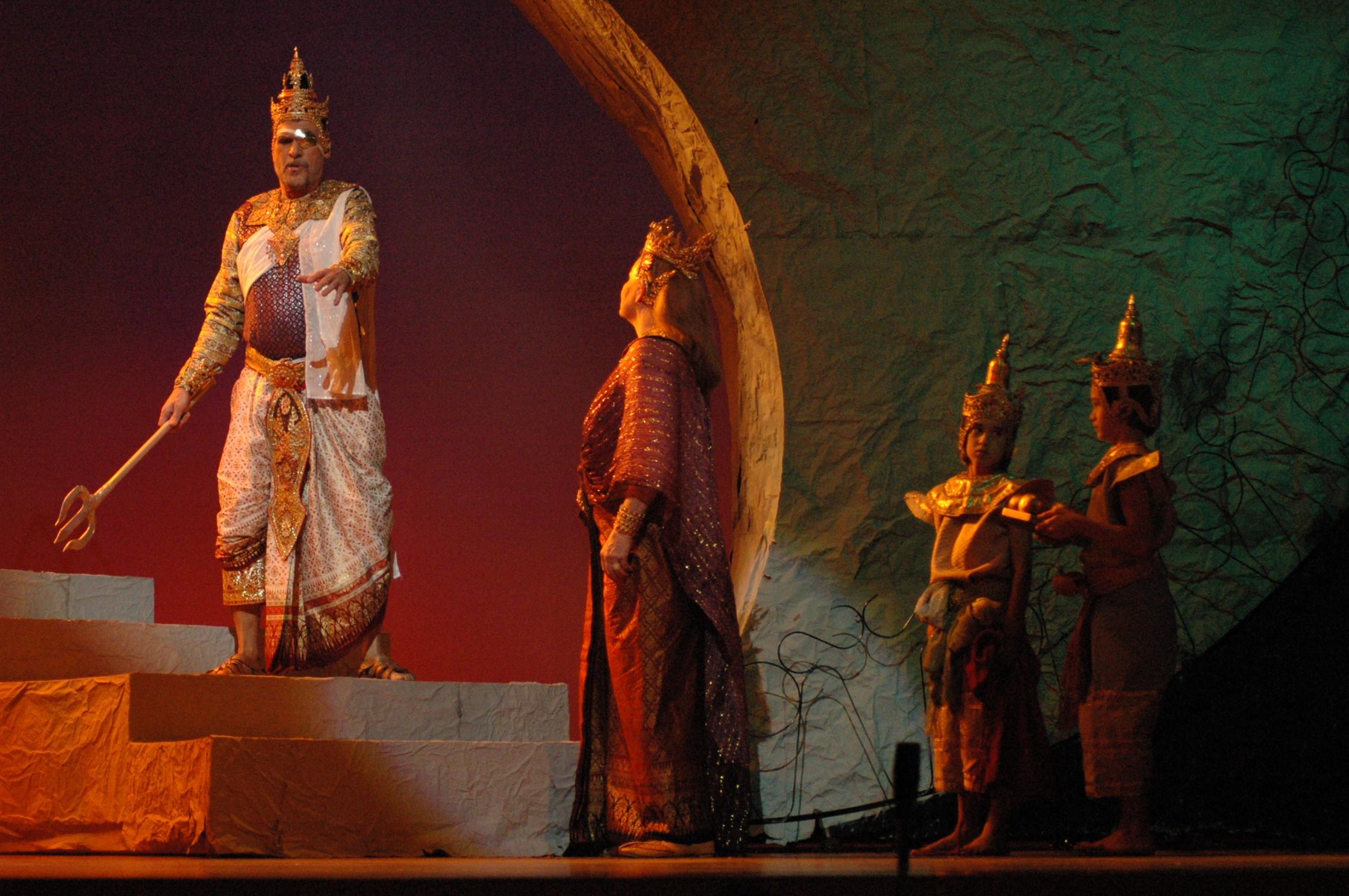 Opera Siam's 2006 Thai-themed  Rheingold