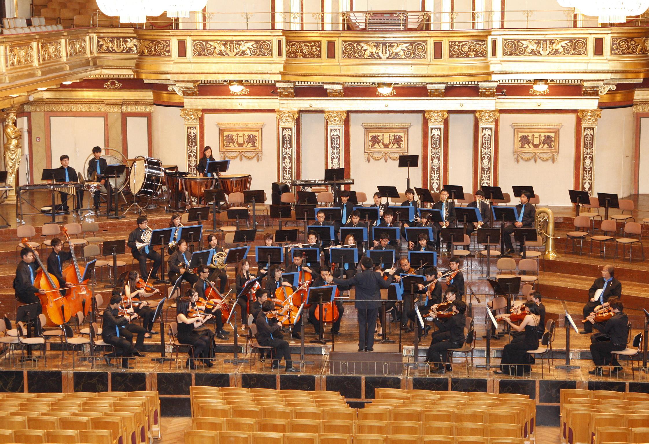 Siam Sinfonietta at the Golden Hall of the Musikverein, Vienna