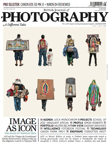 British Journal of Photography – The Road to Tepeyac