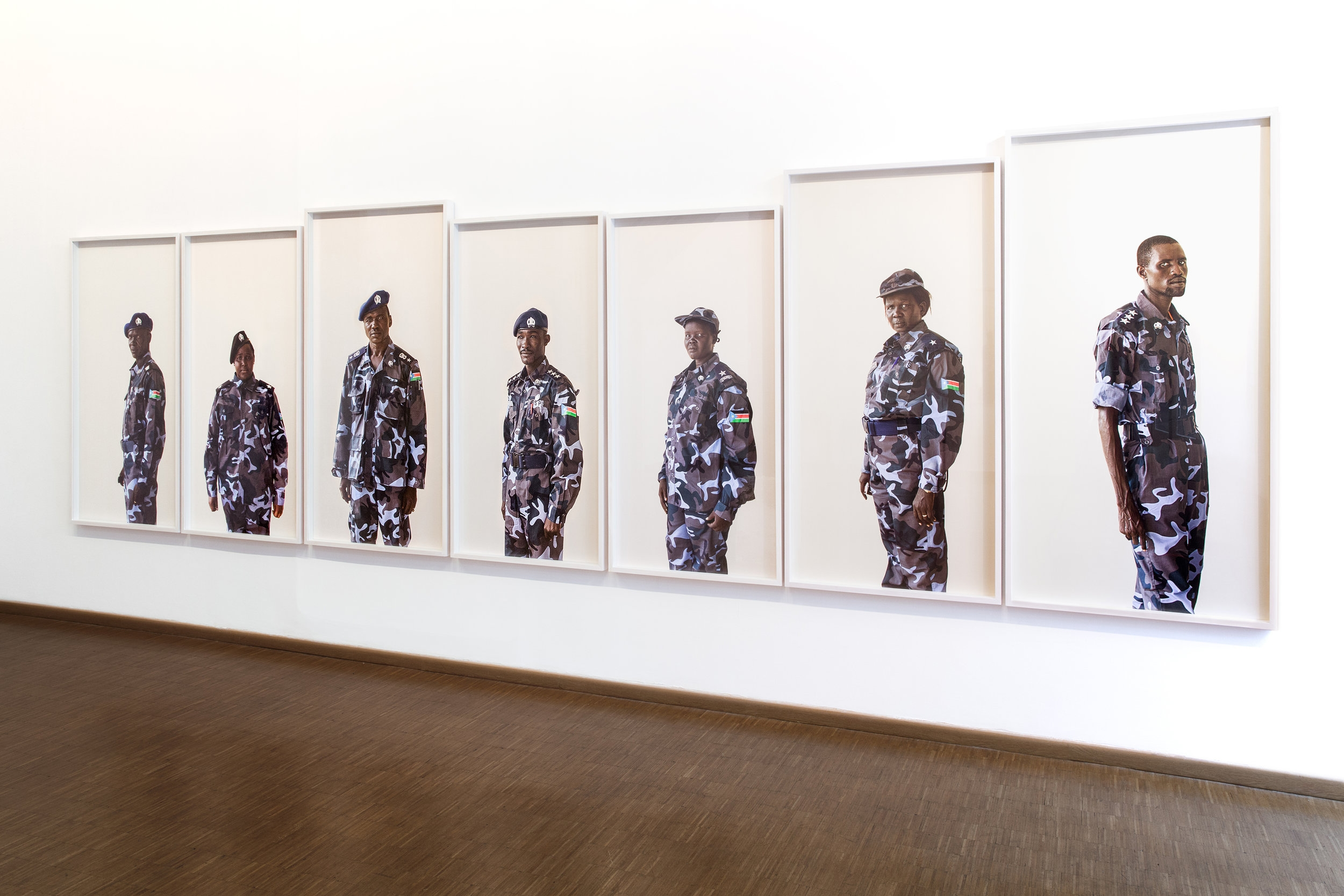 Becoming South Sudan at HEREAFTER, Mexican Cultural Institute, Paris, 2017
