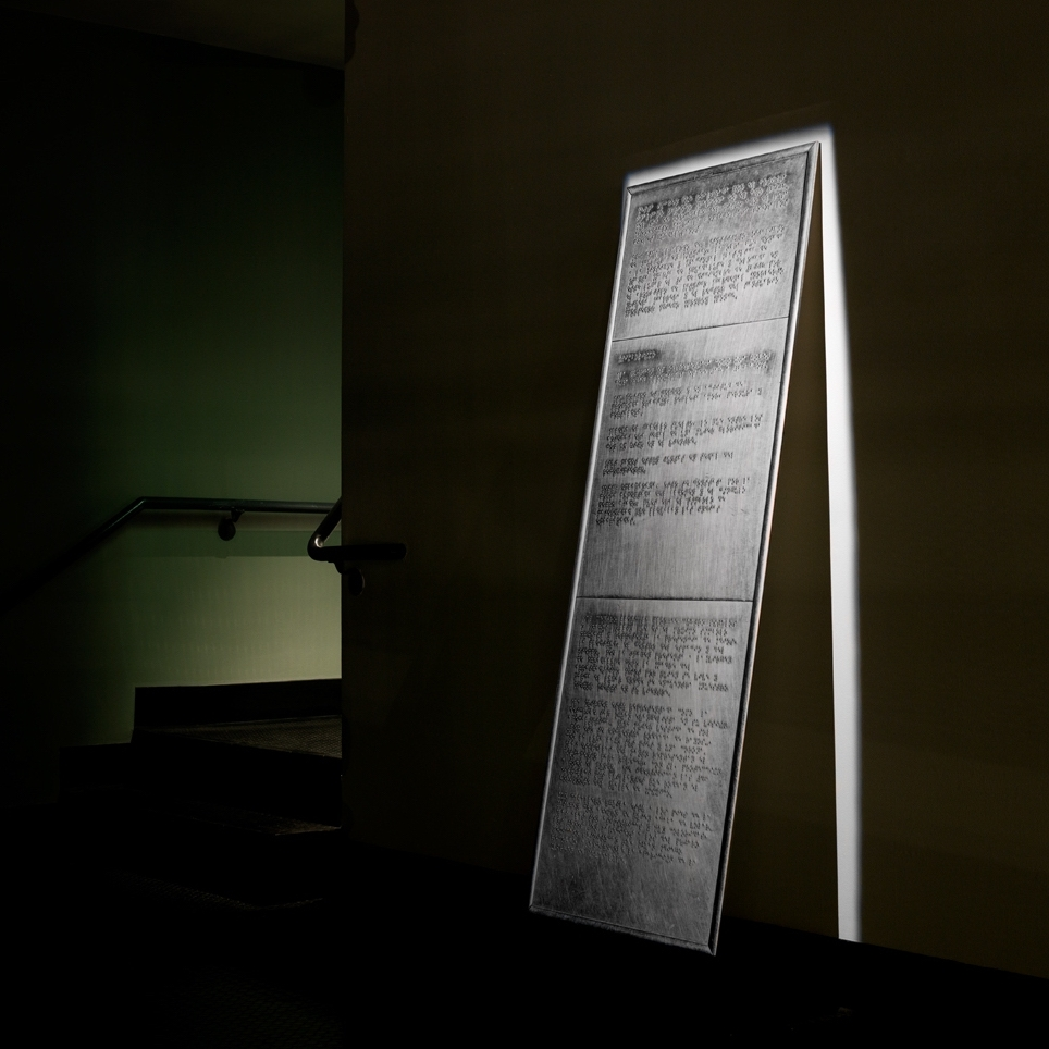 Deep Blindness, 2013 - Present  Sculpture; video; works on paper