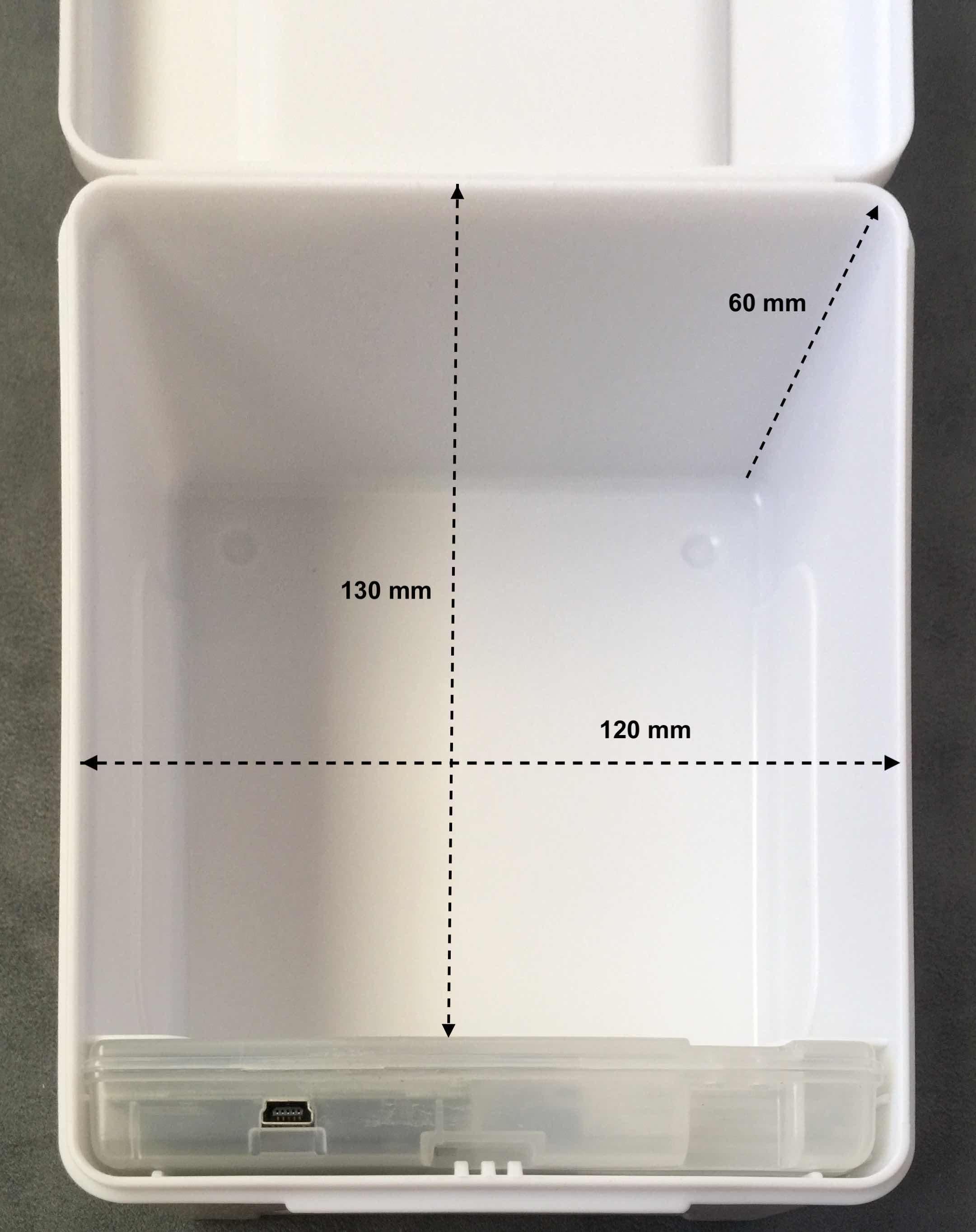 Cavity Dimensions (Standard)