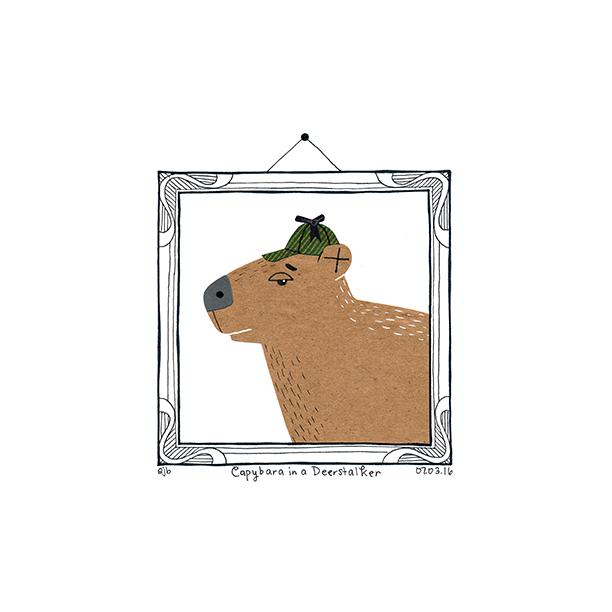 Day76_CapybaraDeerstalker_070316.png
