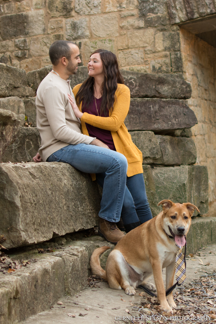 Fall lovers photo shoot at Arbor Hills Nature Preserve in Plano, TX