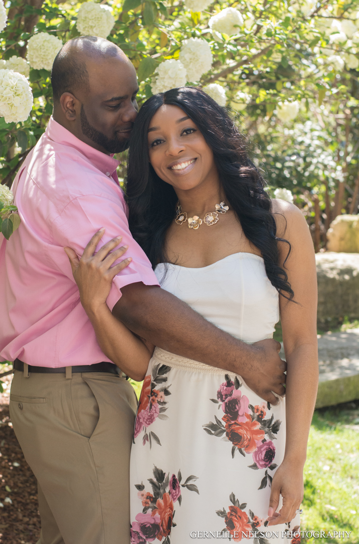 Spring Engagement Photos - Dallas Arboretum in Garland, TX by Gernelle Nelson