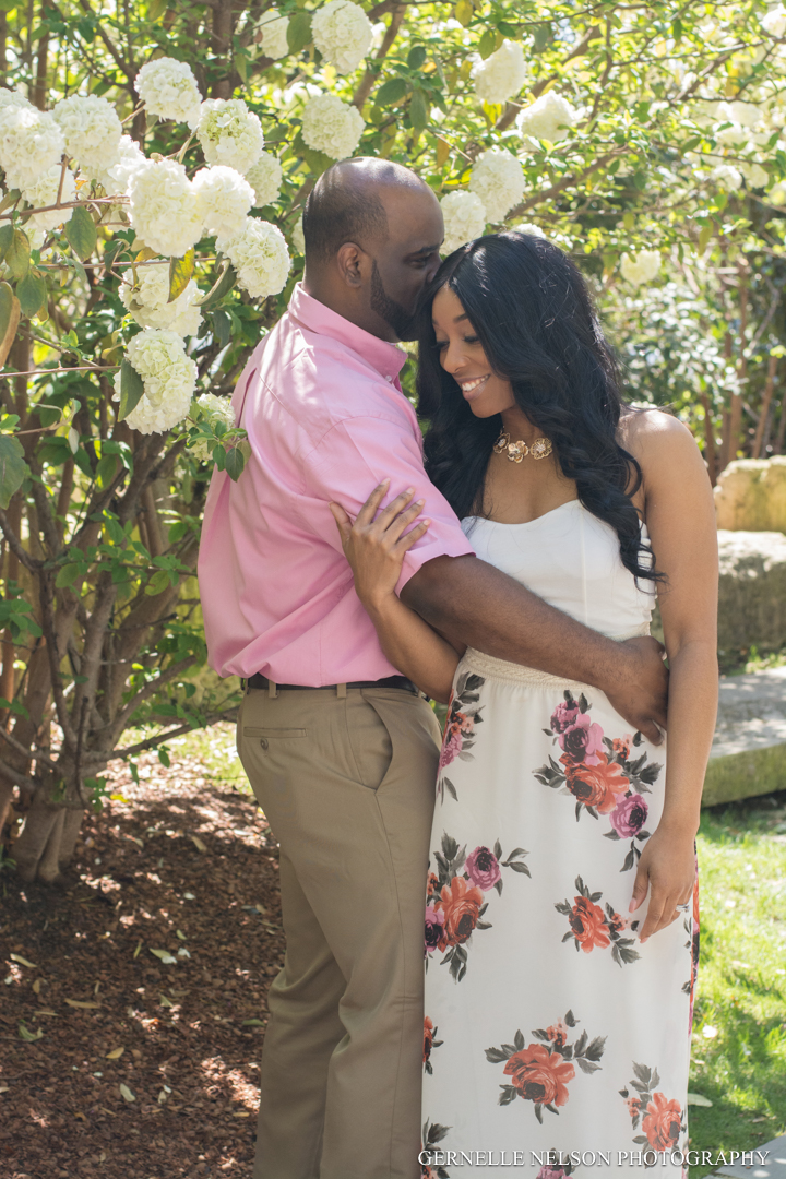 Dallas Engagement Photos - Dallas Arboretum in Garland, TX by Gernelle Nelson
