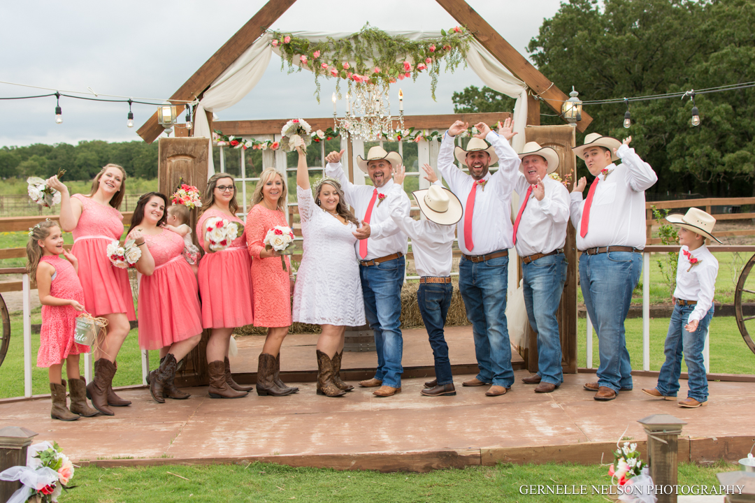 Carrie & Gavin - Scurry, TX Wedding