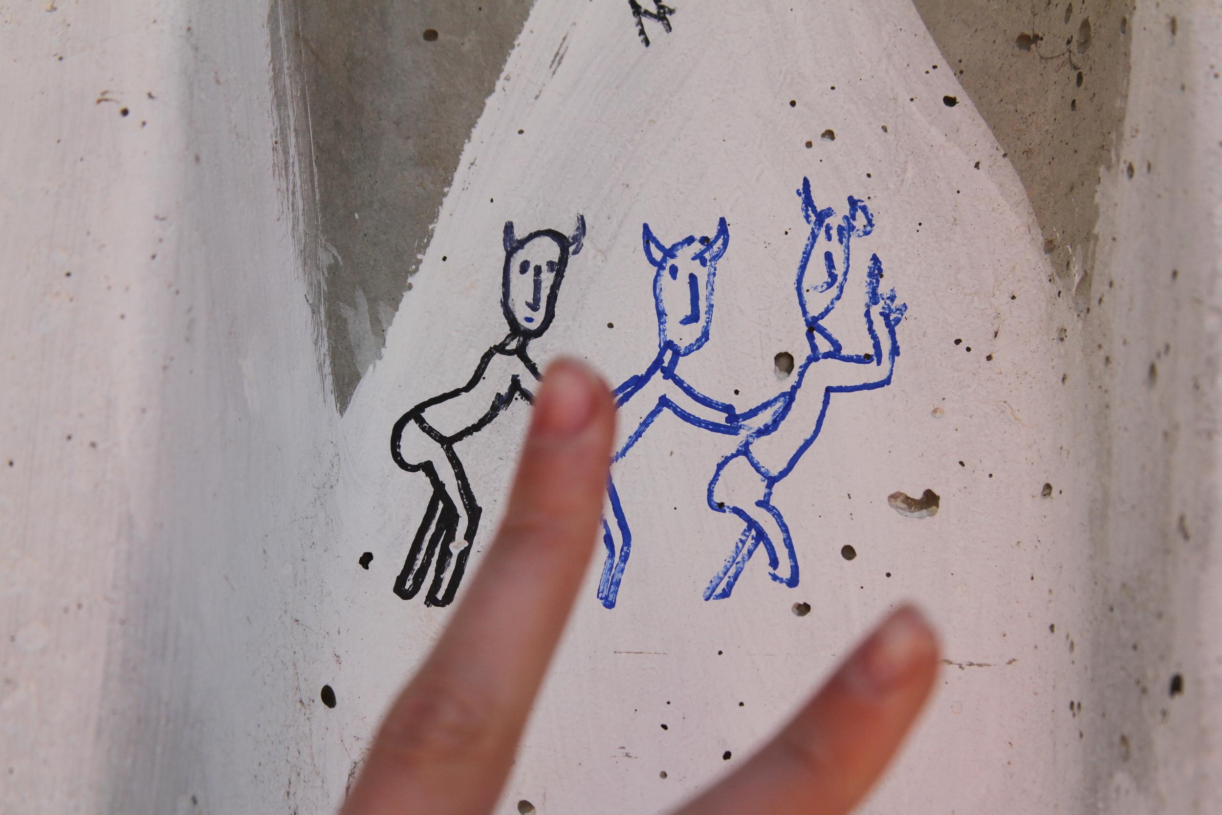 THE ONE PIECE OF STREET ART WE DONATED TO VALPARAÍSO: NICOLAI'S TWERKING DEVILS