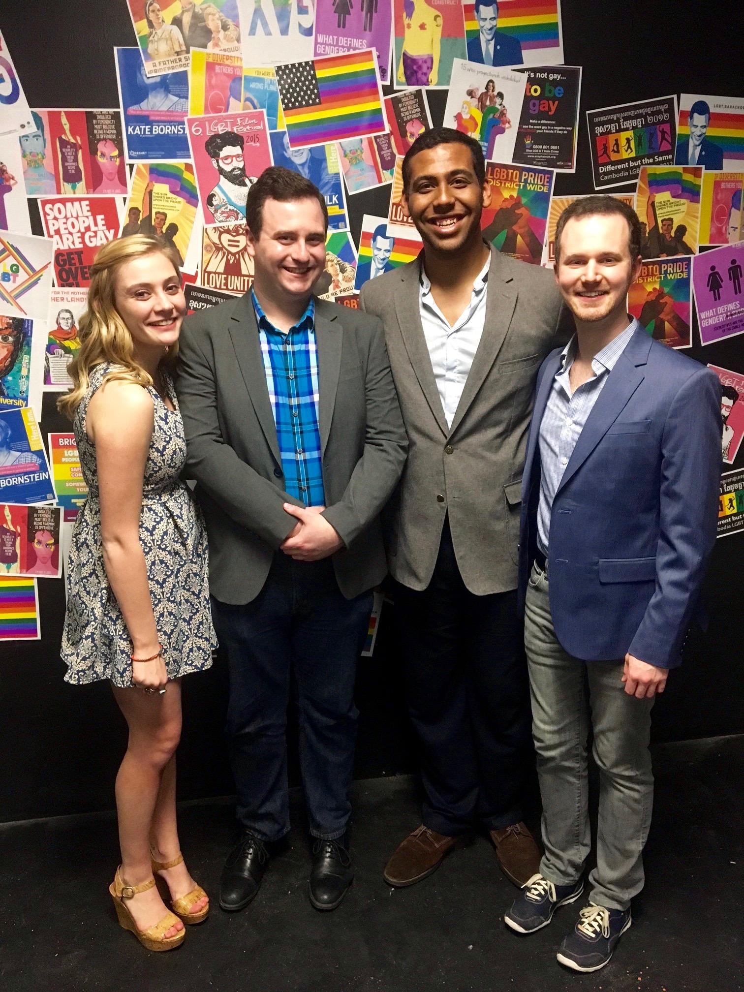 Addison Brown (assistant director), Jonathan Keebler (lyricist/bookwriter), Clyde Moser (director), Ryan Korell (composer)