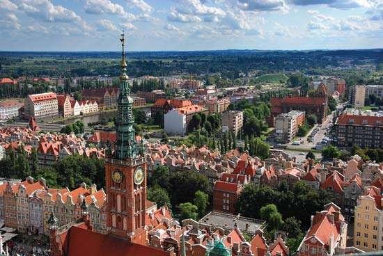 Gdańsk, Poland EU 2018 -