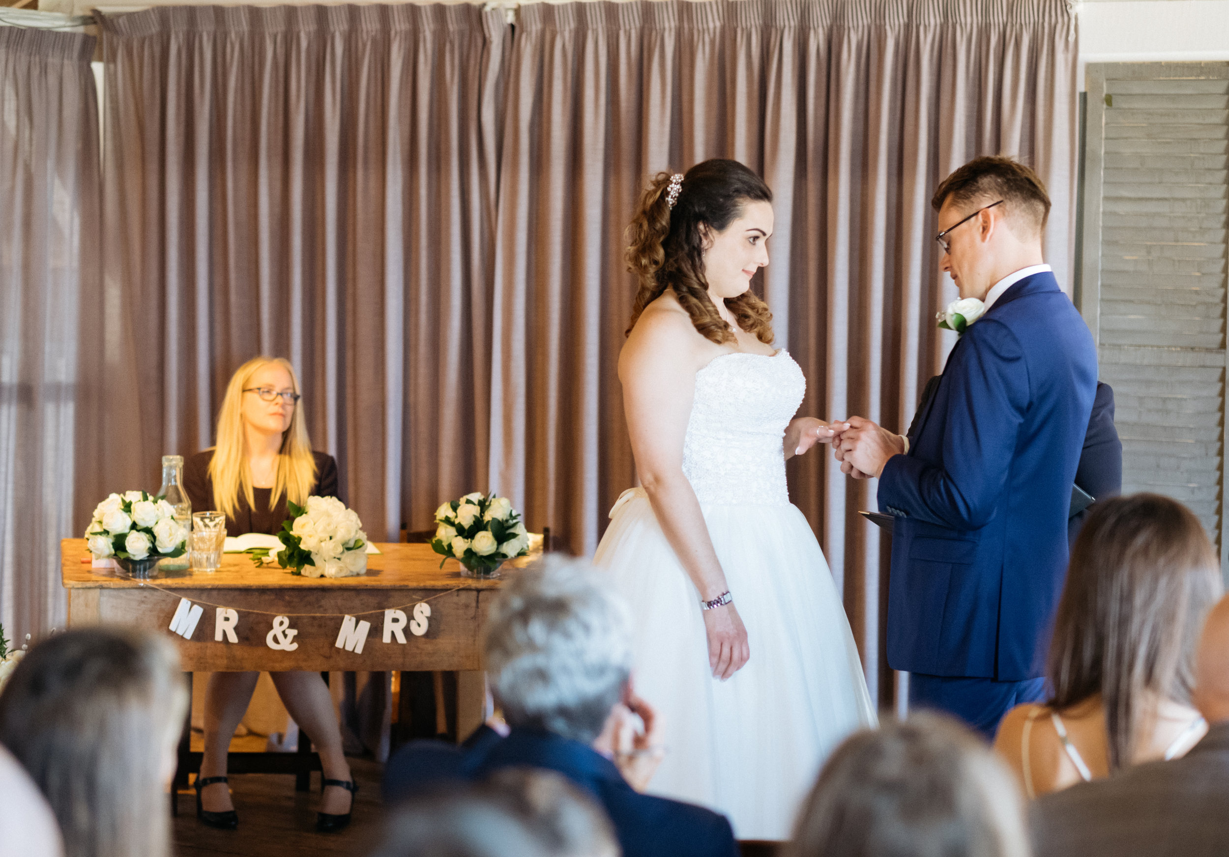 Getting married at East Quay wedding venue