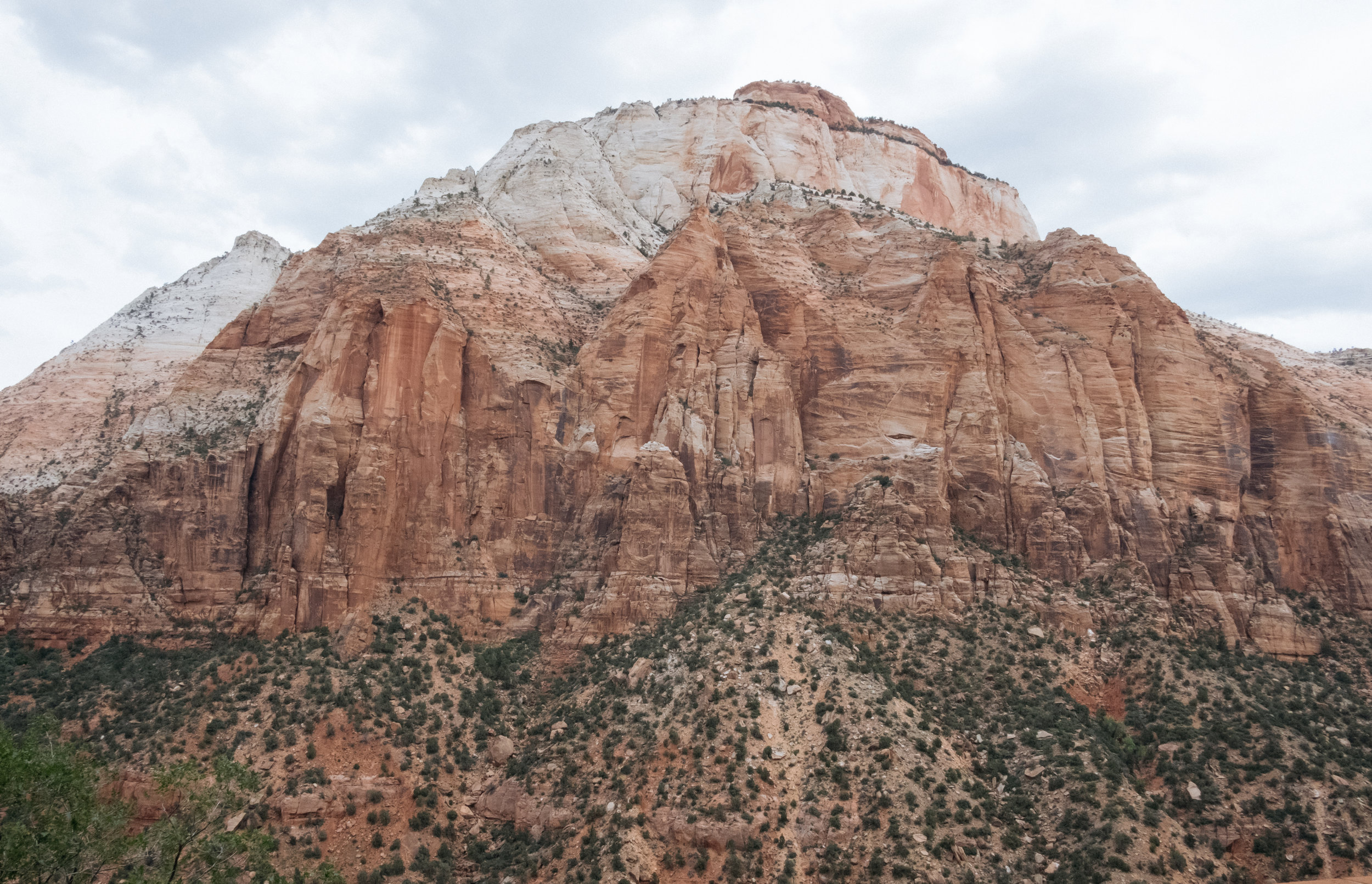 Majestic mountains in Zion National Park