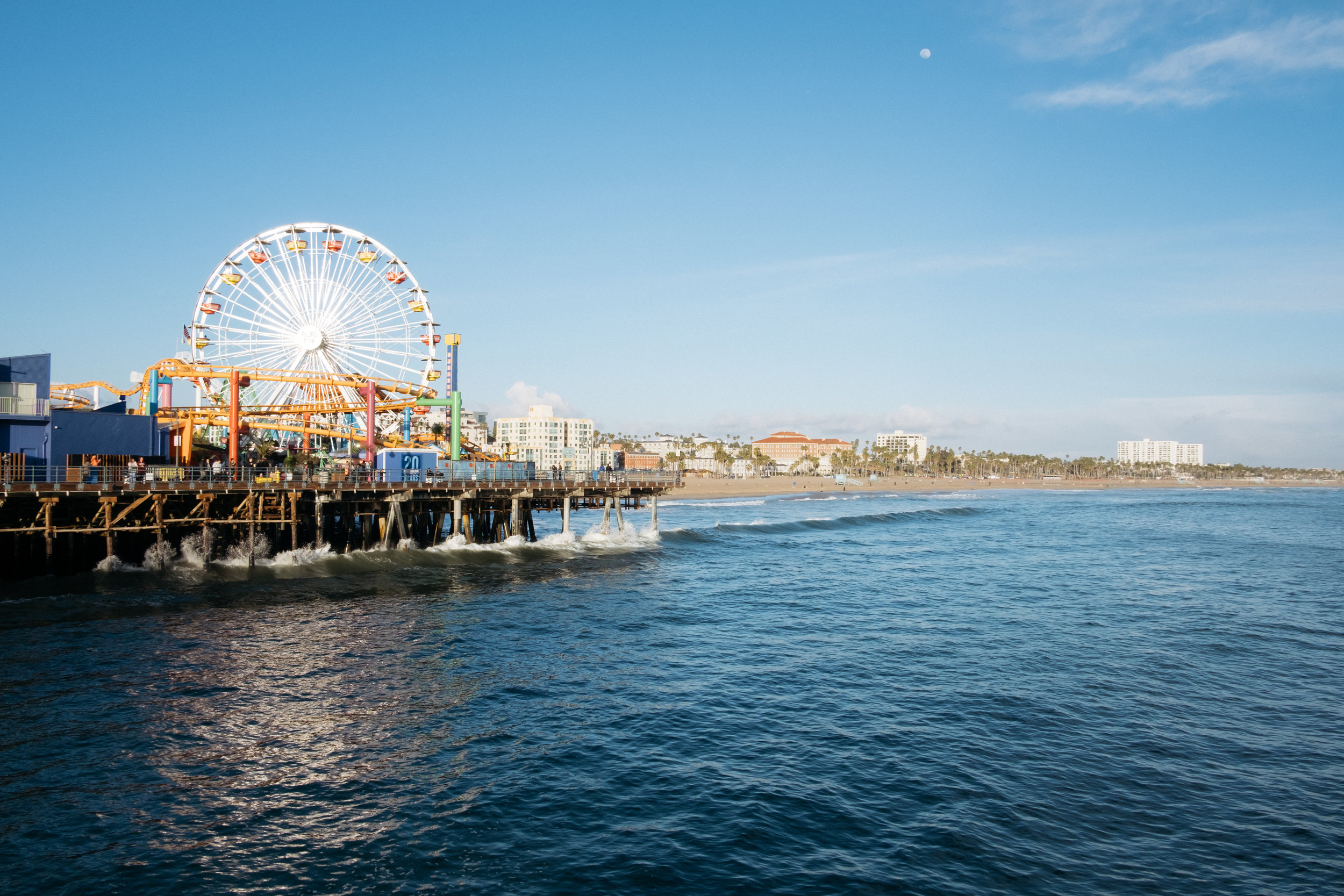 Fairground on Santa Monica pier