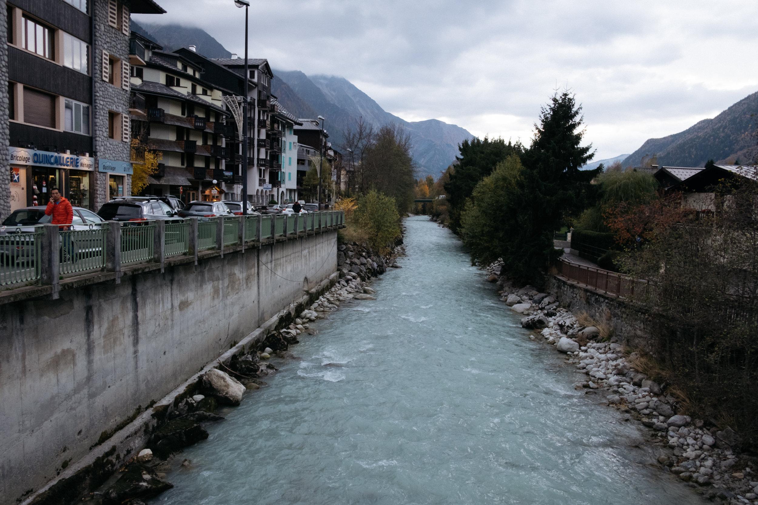 river Arve Chamonix