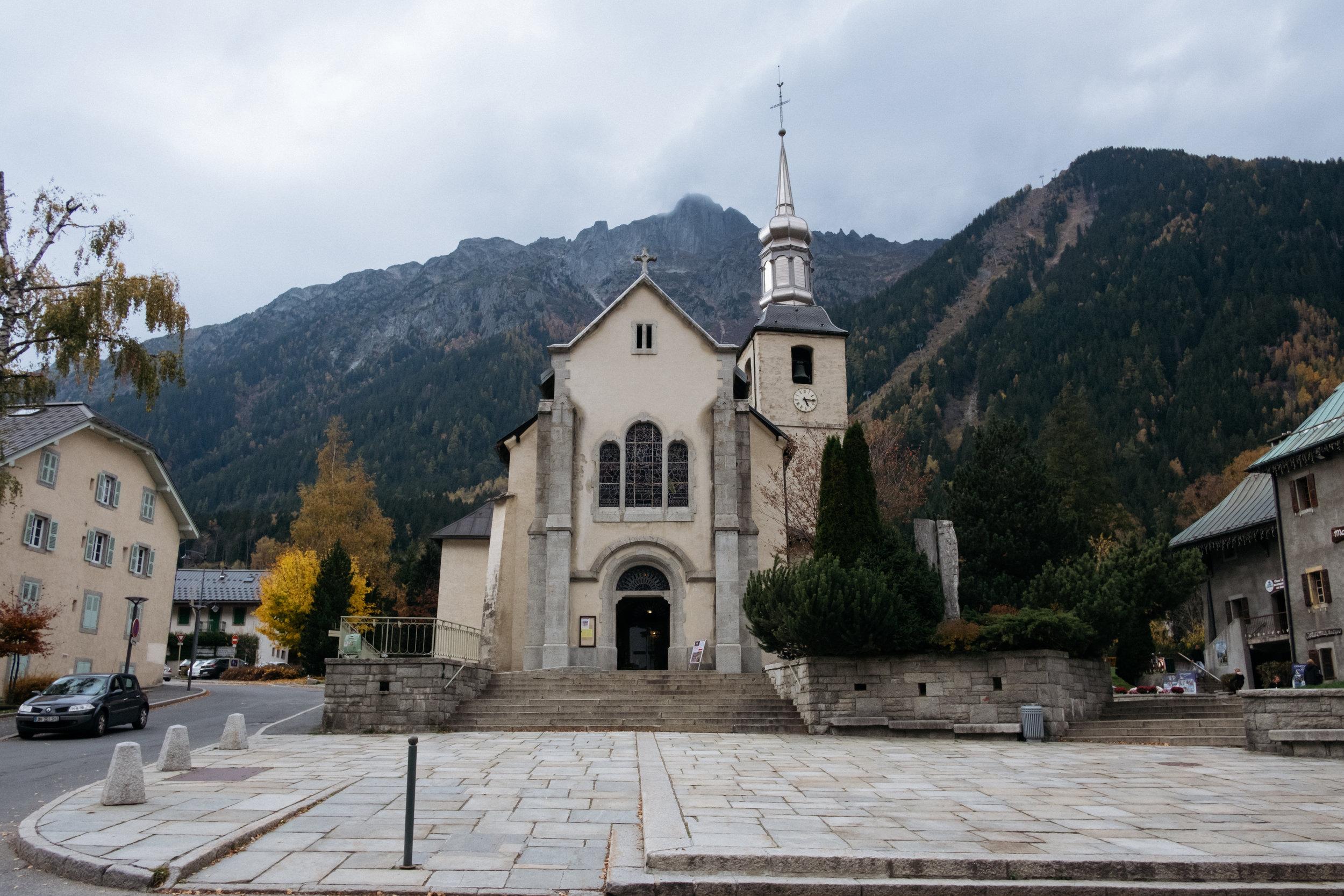 Église Saint-Michel de Chamonix-Mont-Blanc
