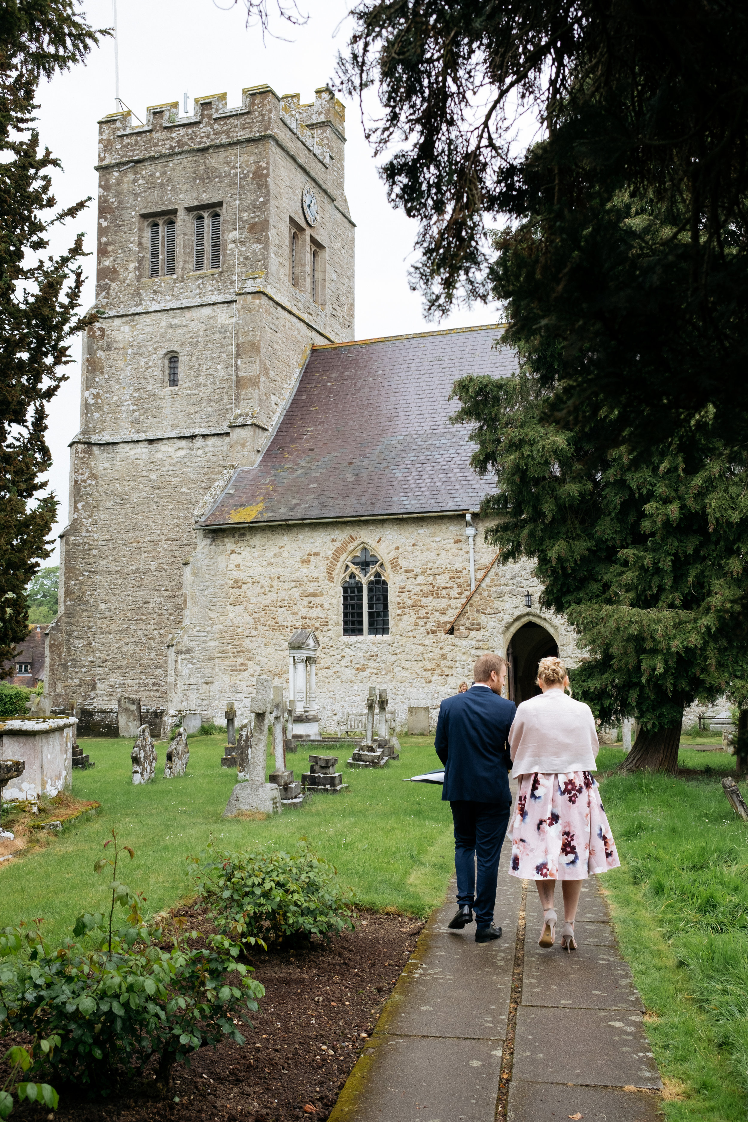 St. Michael's Church, Smarden, Kent wedding