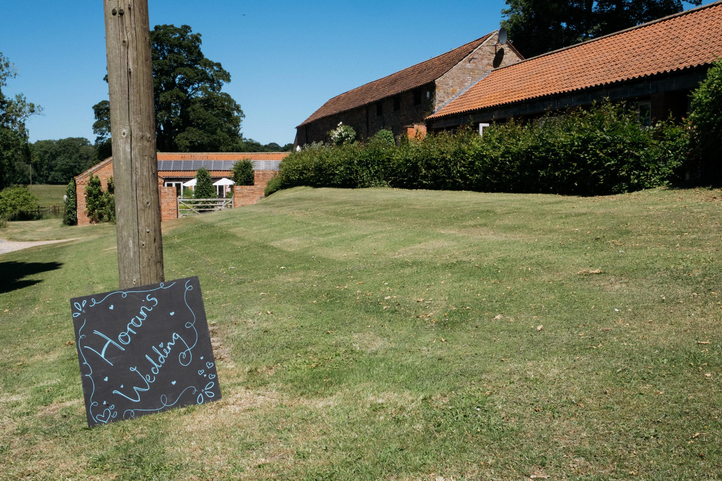 Thorganby Hall, Lincolnshire Wedding