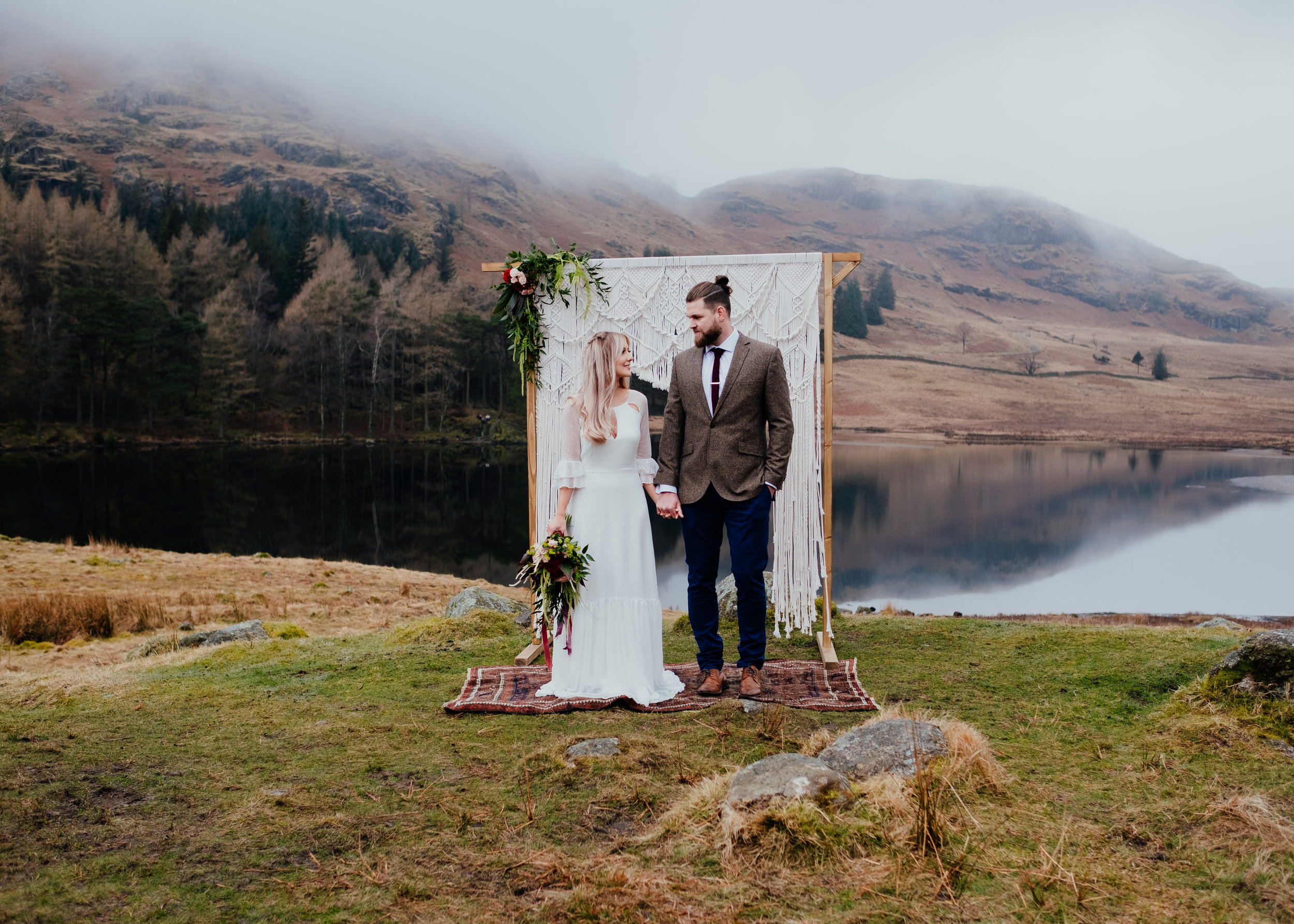 Bohemian elopement in the Lake District