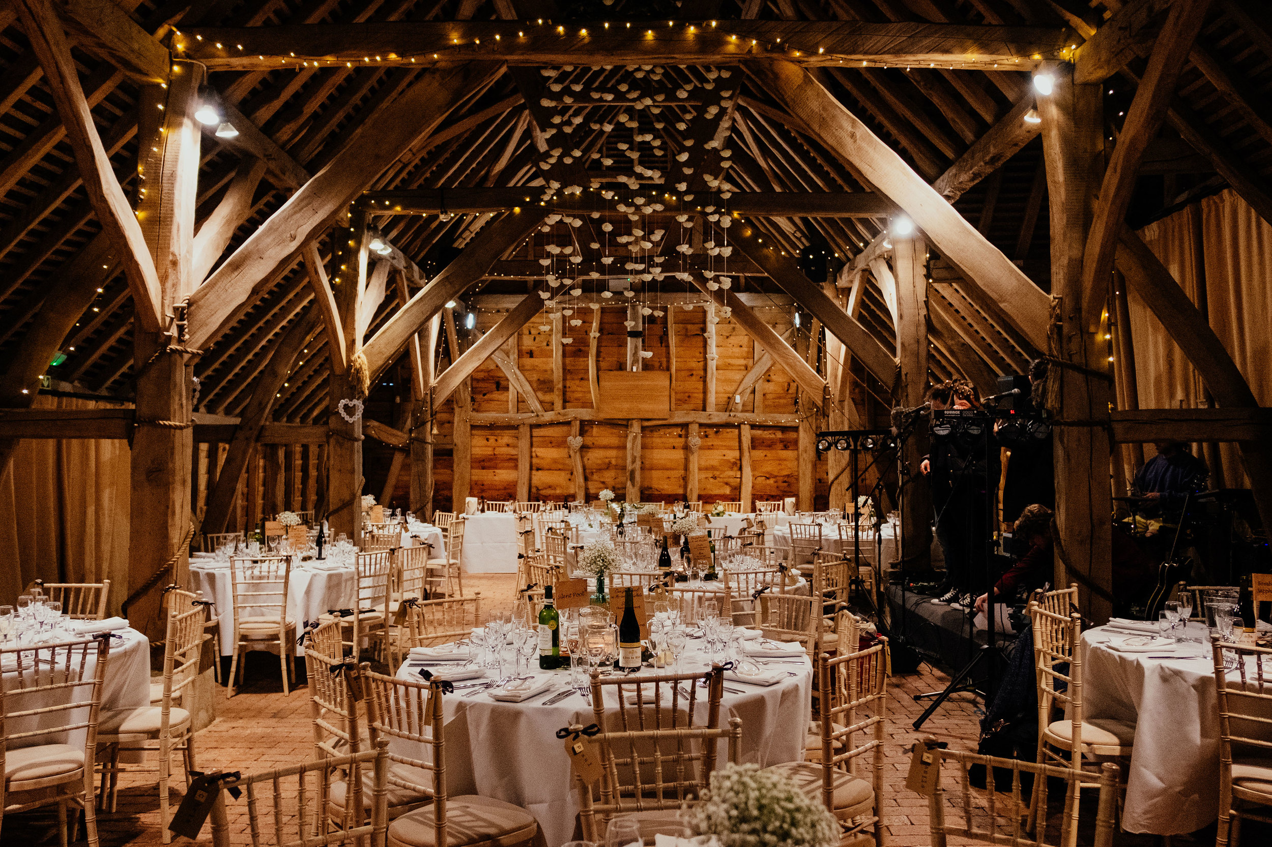 Gildings Barn wedding photography