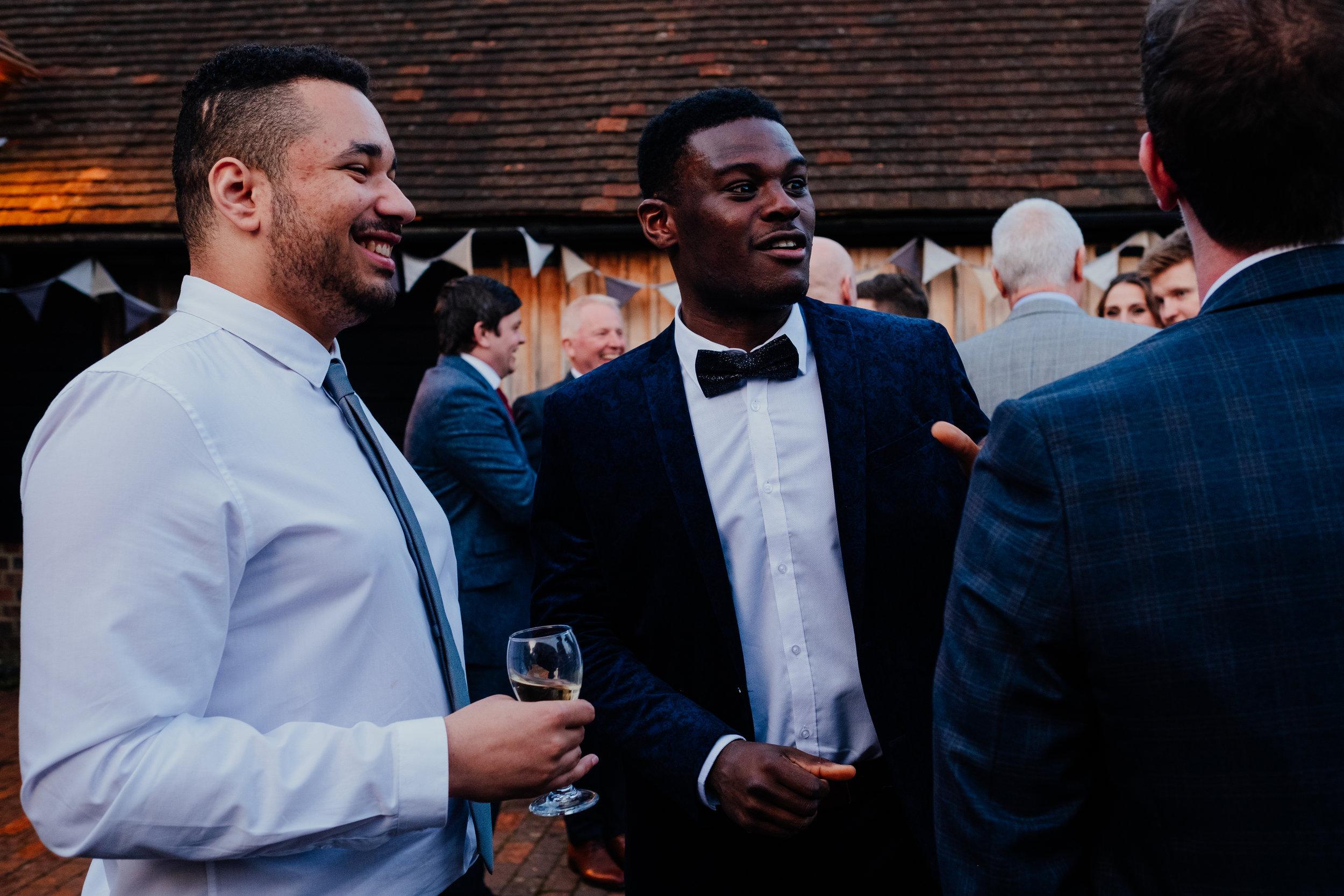 Wedding reception at Gildings Barn