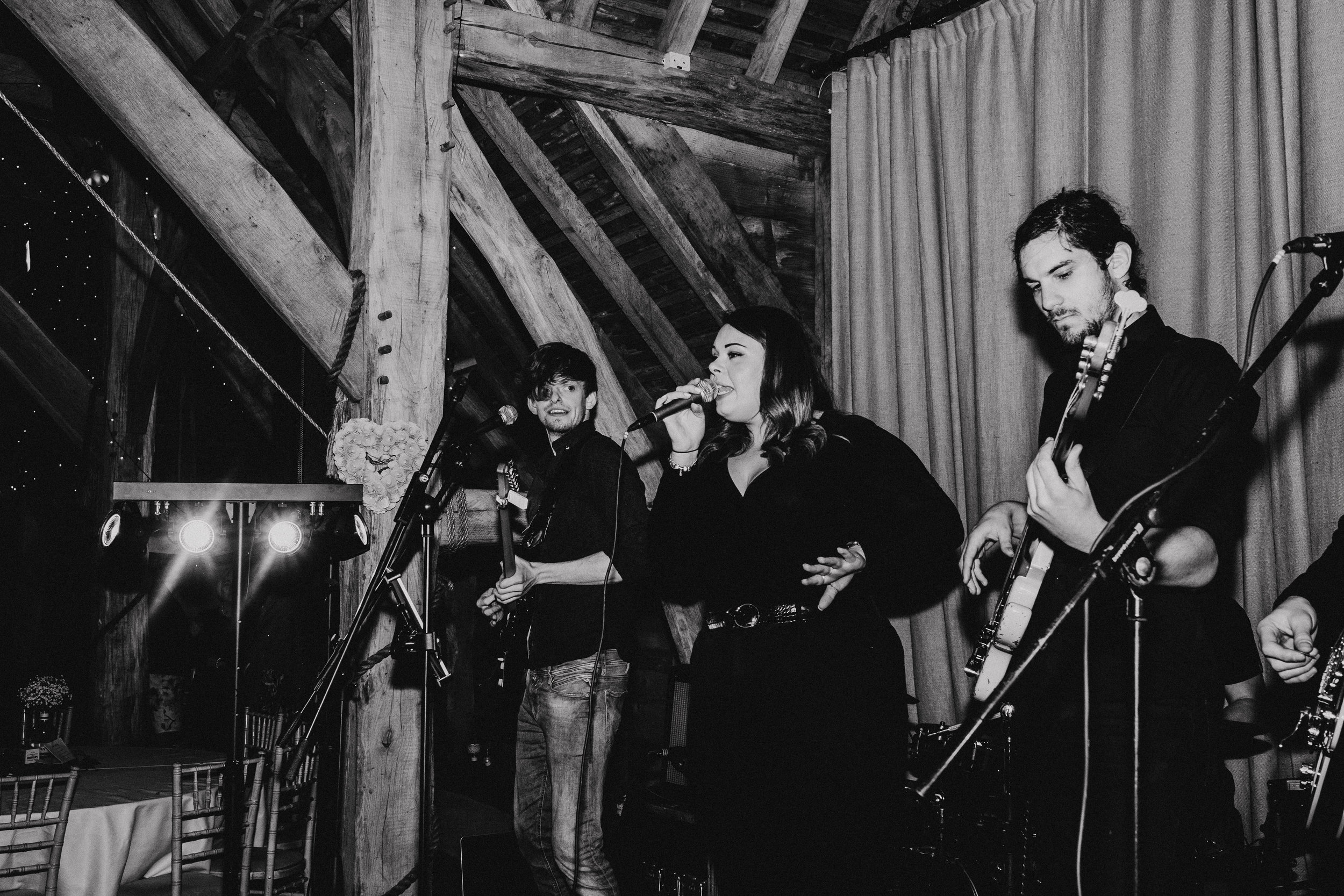 VIVO band at Gildings Barn
