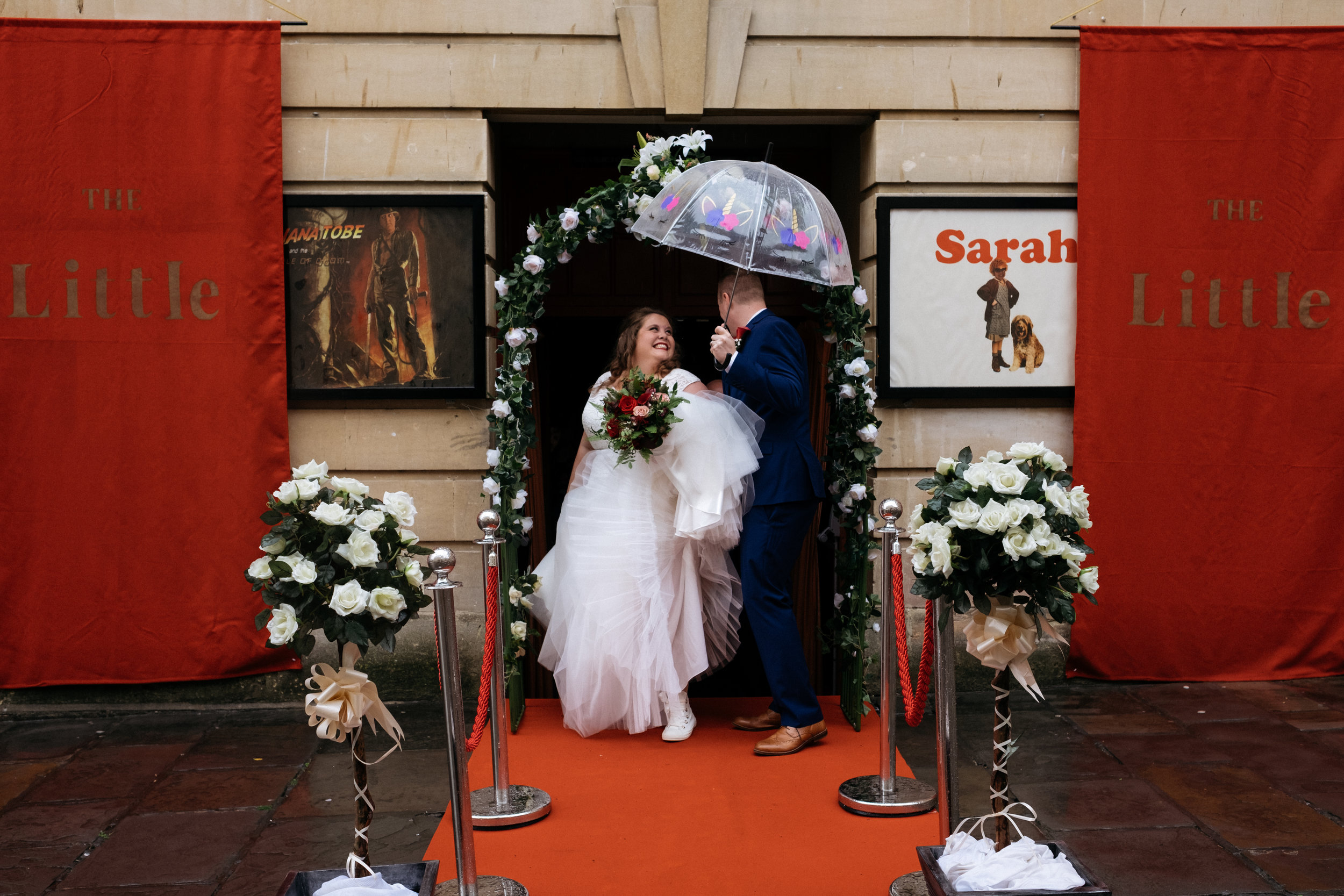 The Little Theatre wedding in Bath