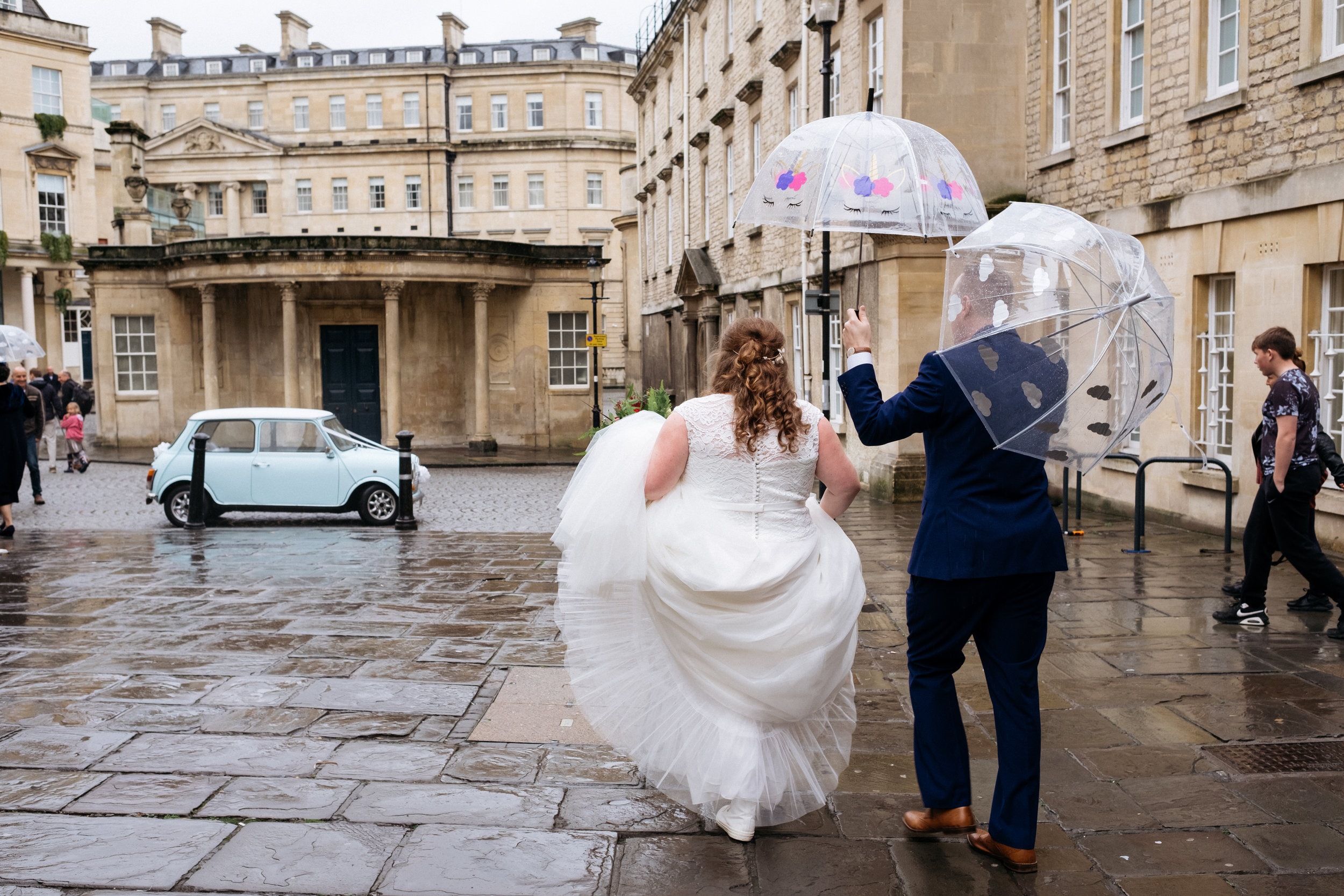 Wedding at the Little Theatre in Bath