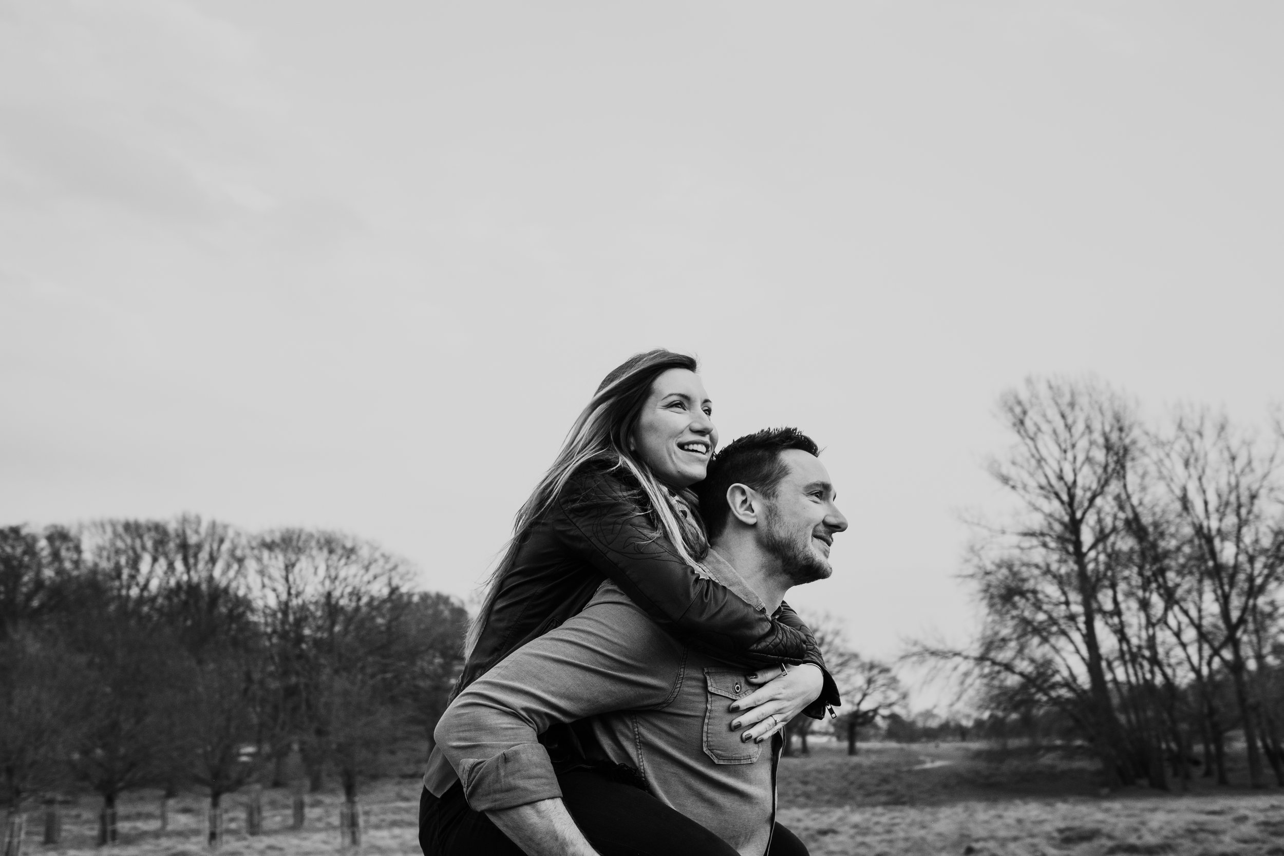 Richmond Park couple shoot