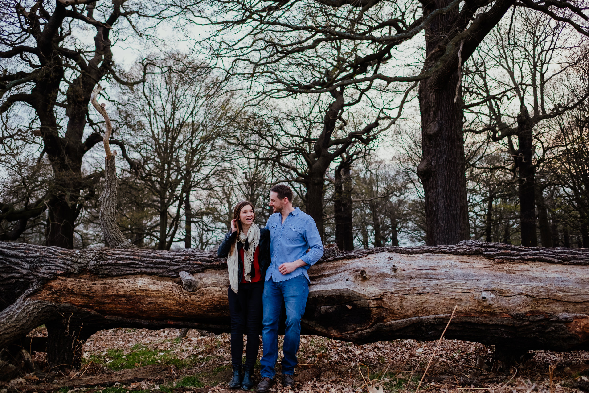 Richmond Park engagement session
