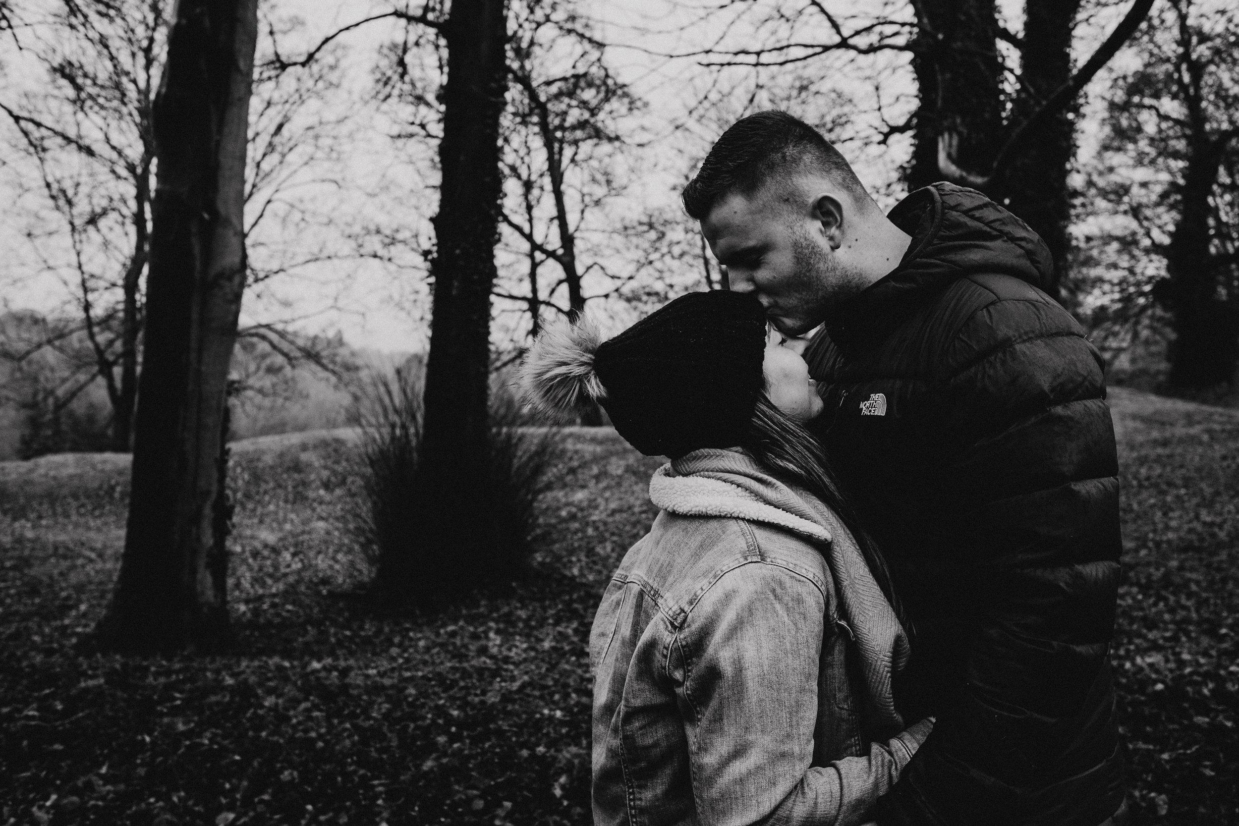 Winter couple shoot in Arundel
