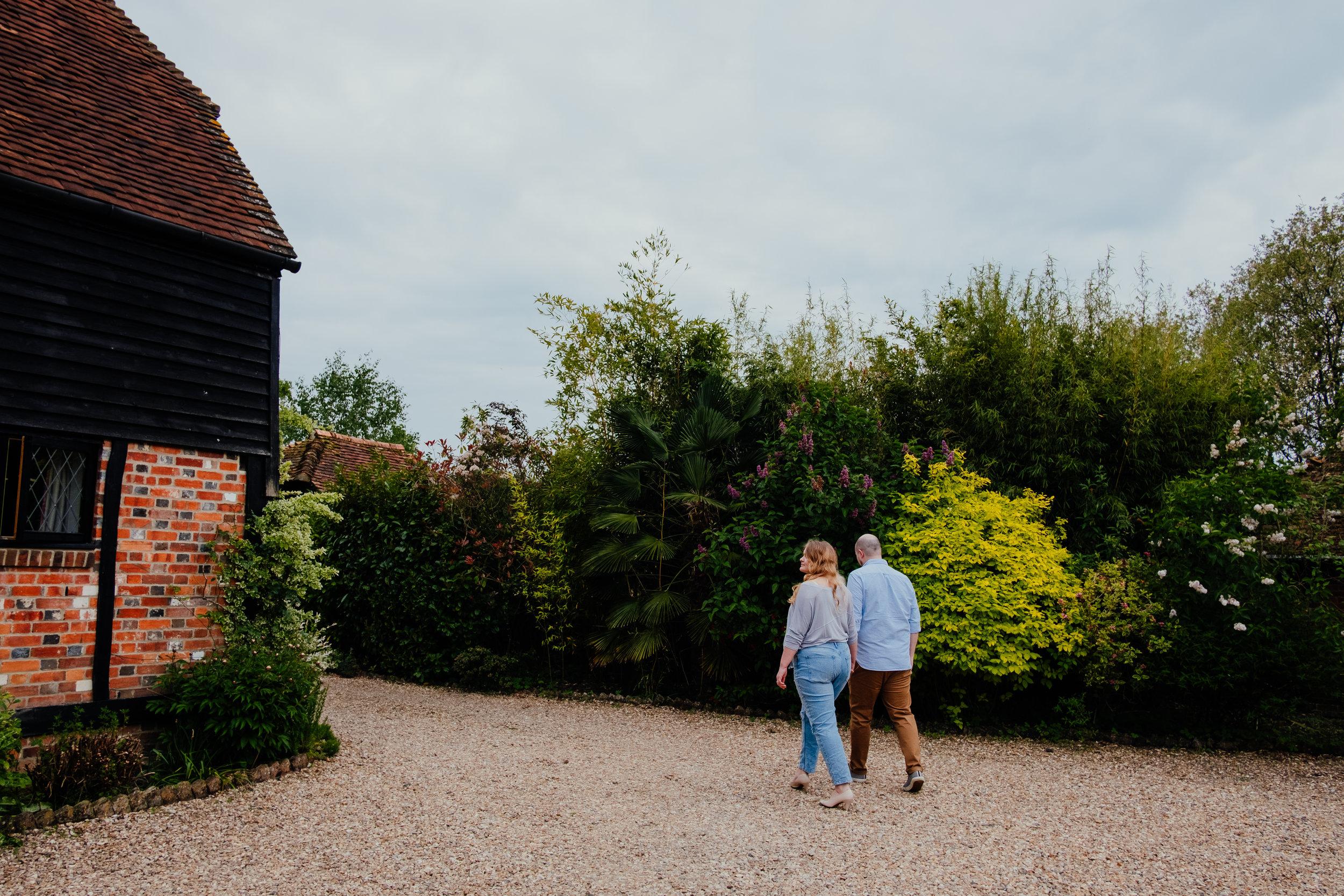 Rumbolds Barn wedding photography | Couple shoot