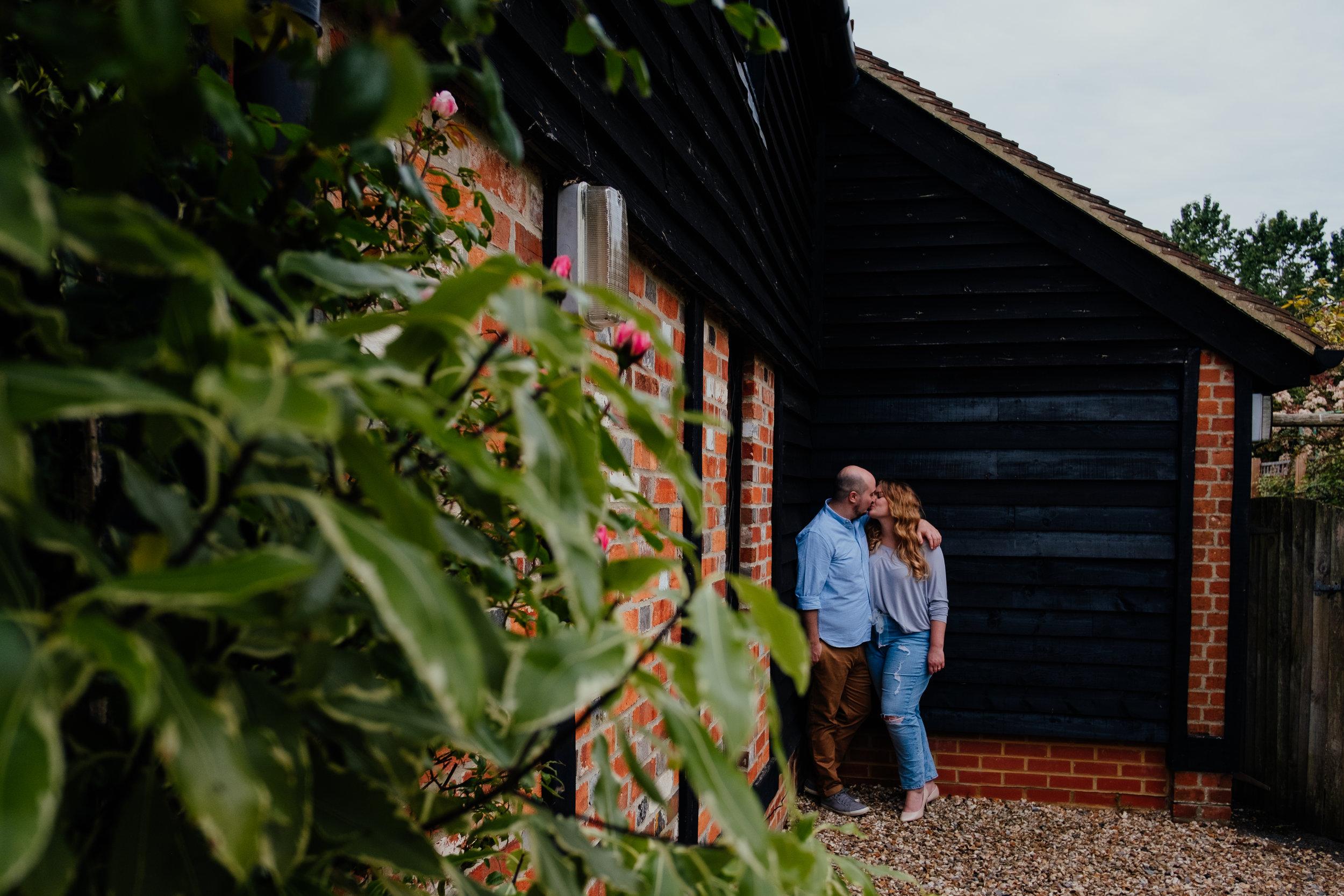 Couple shoot at Rumbolds Farm wedding photography