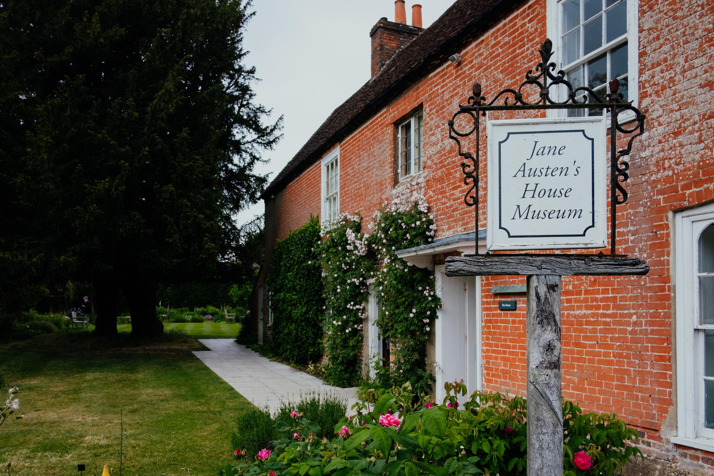 Jane Austen's House Museum Couple Shoot