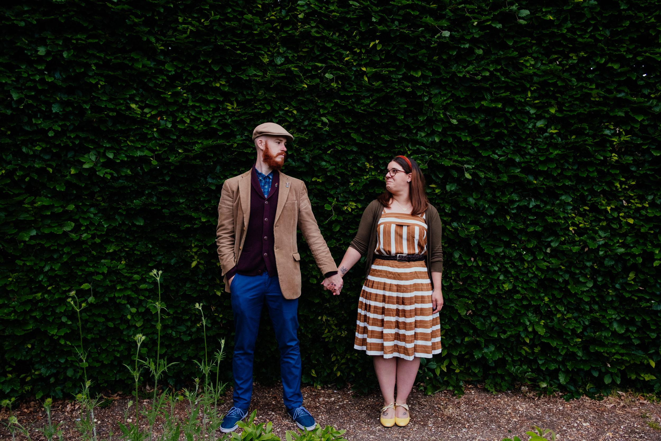 Jane Austen House Couple Shoot