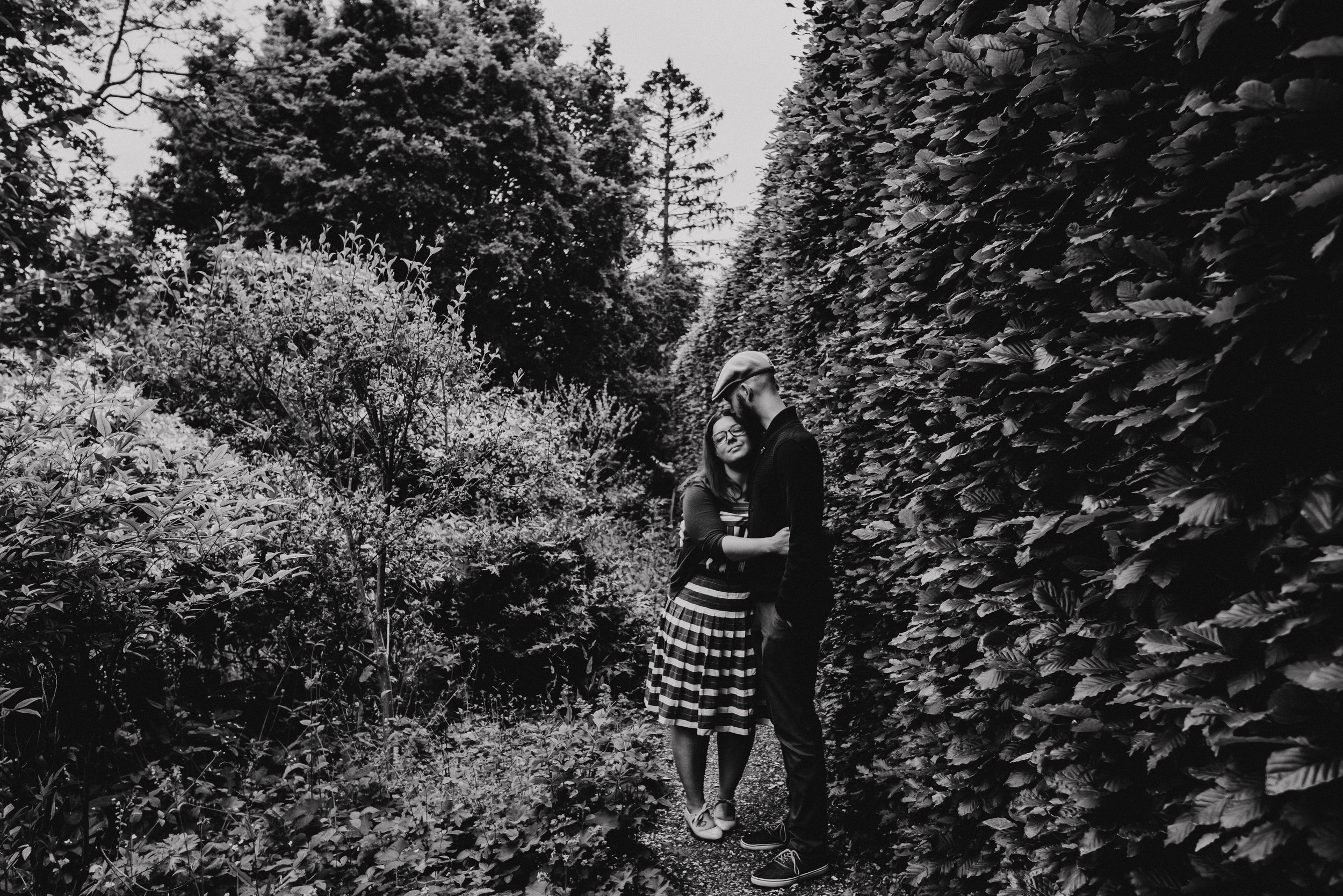 Couple shoot at Jane Austen House Musuem