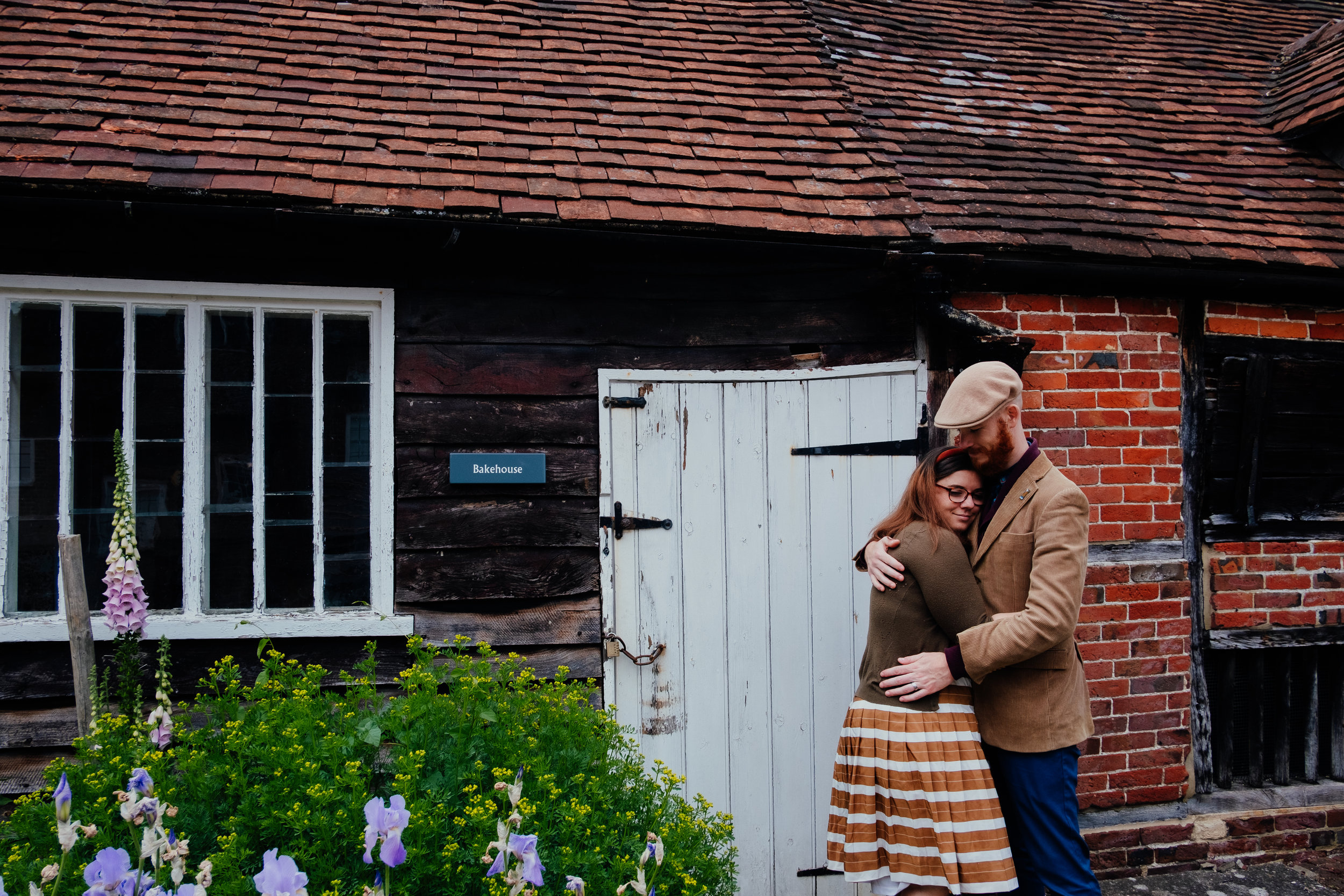 West Sussex wedding photographer | Jane Austen House Museum engagement shoot