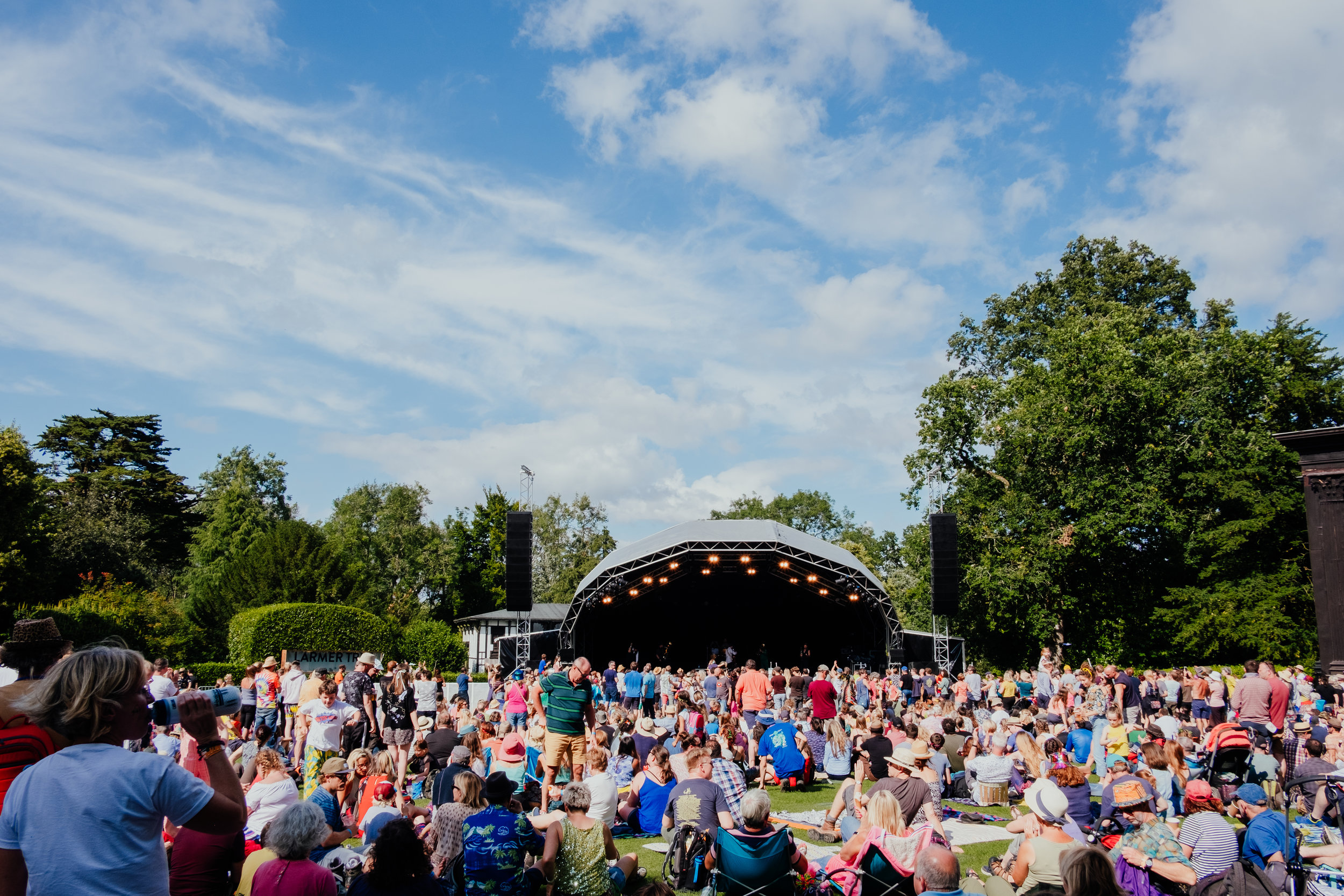 Larmer Tree Festival 2019 main stage