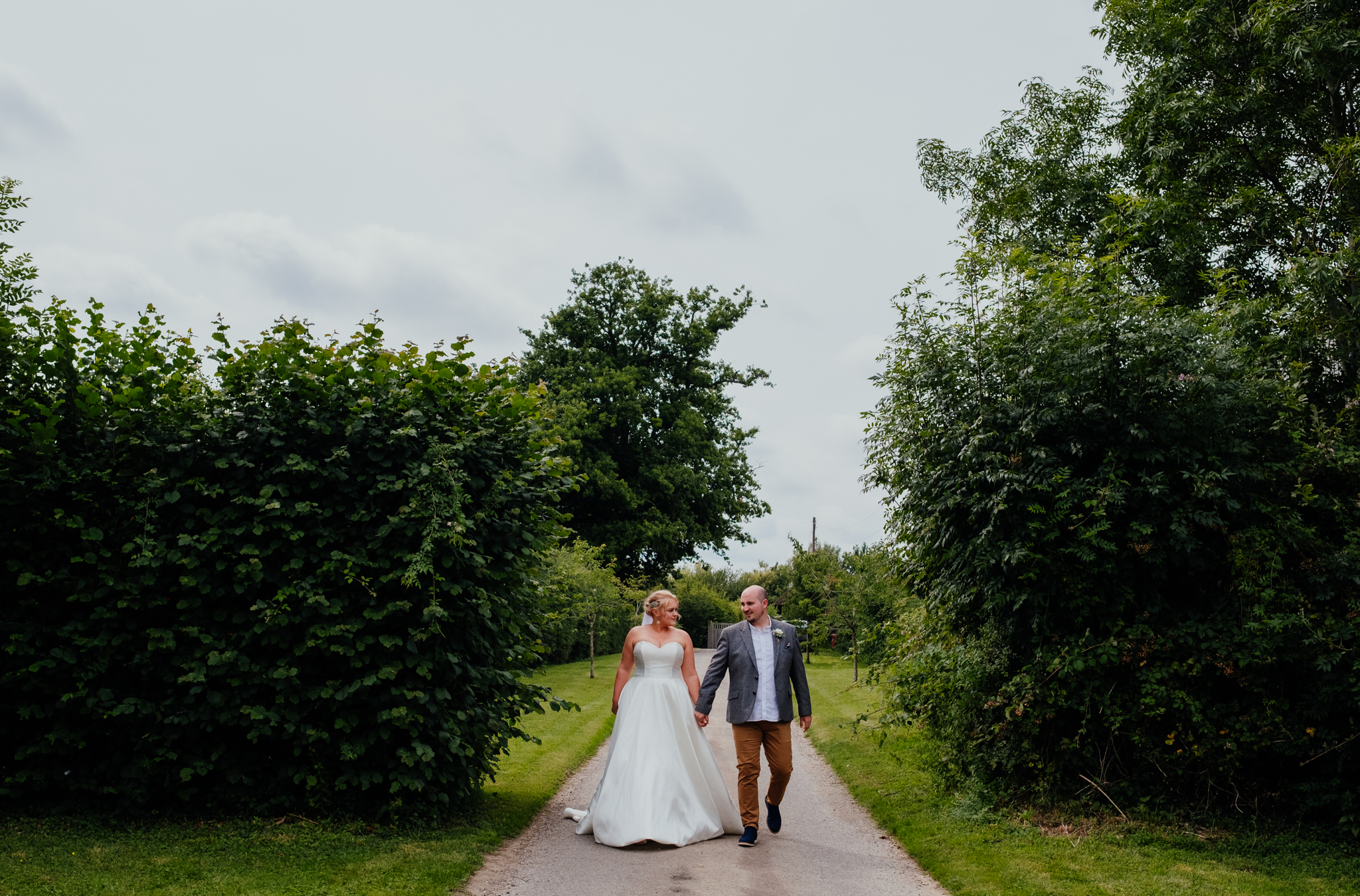 Couple portraits at Rumbolds Farm wedding